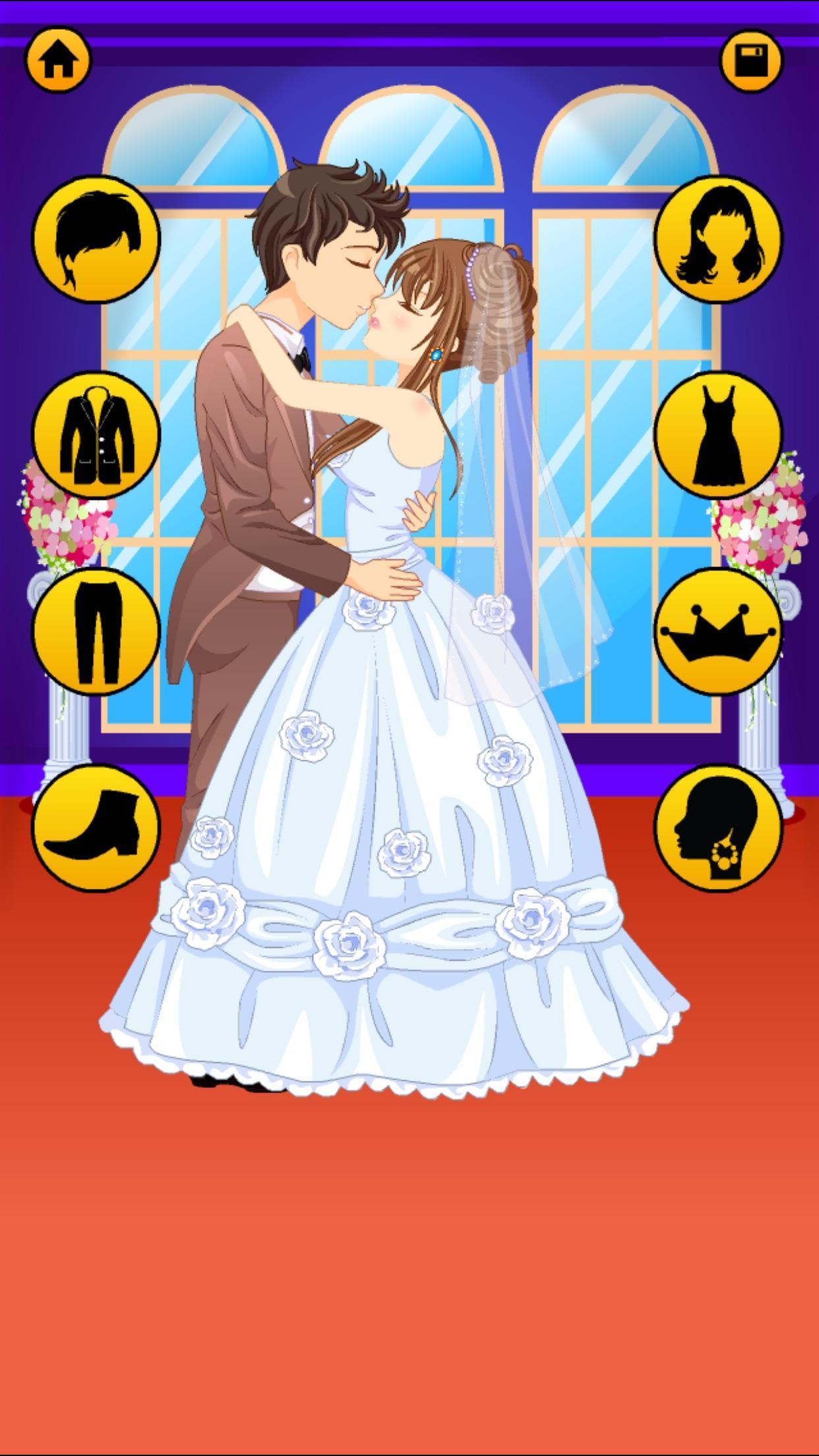 Anime Dress Up Games For Girls - Couple Love Kiss 3.3 Screenshot 19