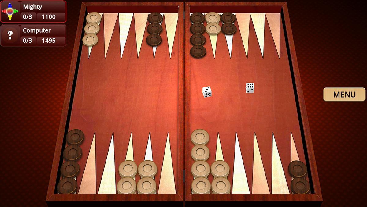 Backgammon Mighty 2.27 Screenshot 1