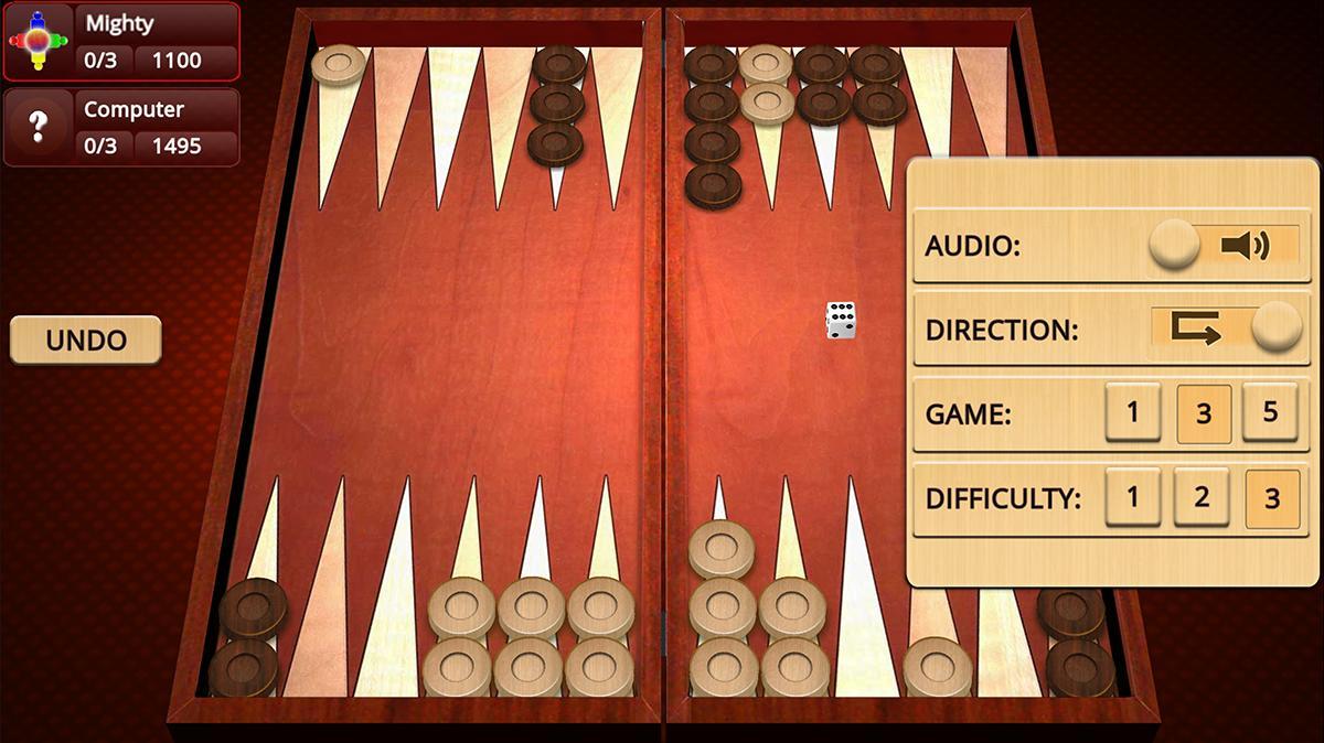 Backgammon Mighty 2.27 Screenshot 3