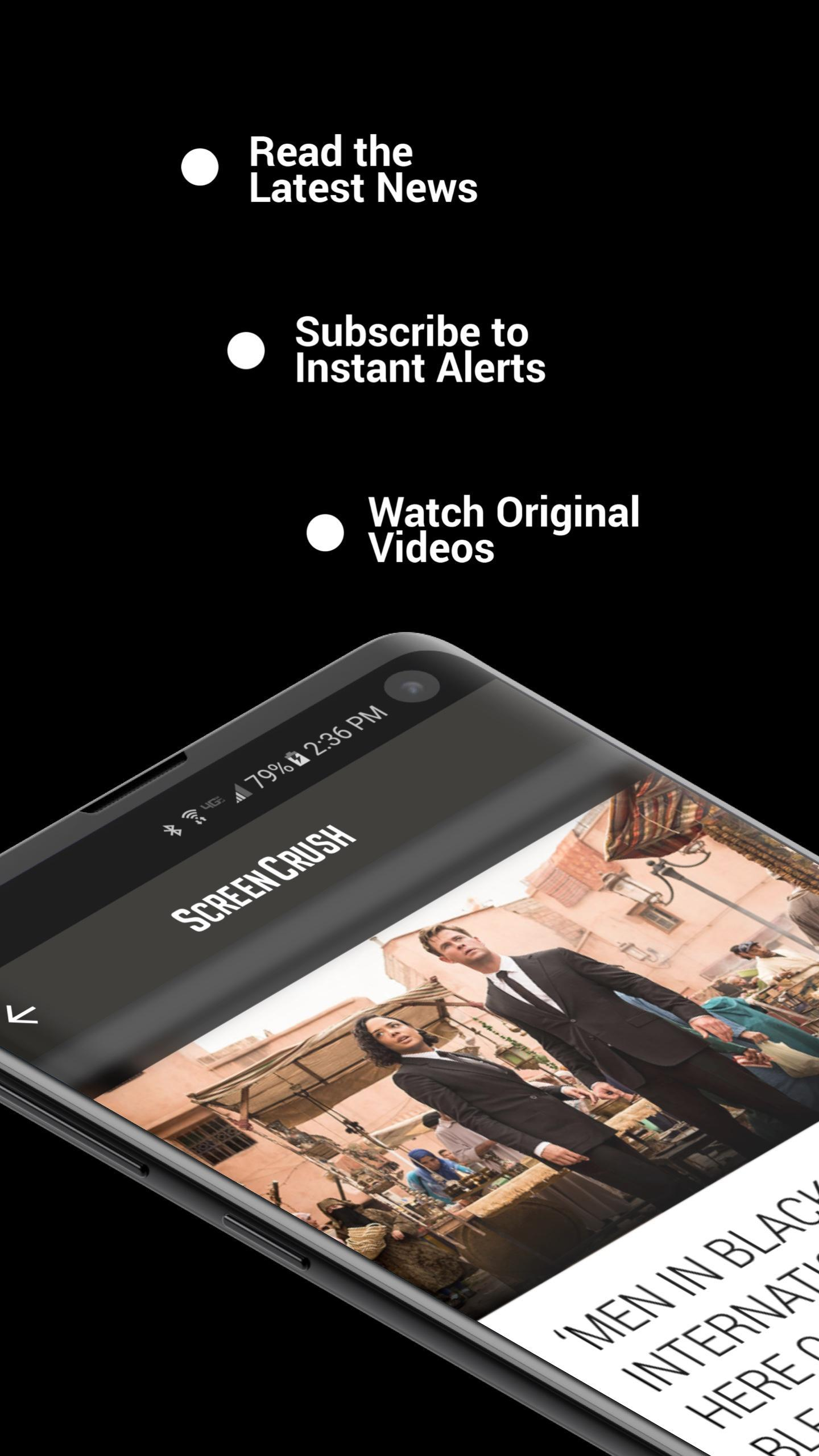 ScreenCrush - On-screen. Online. Always. screenshot