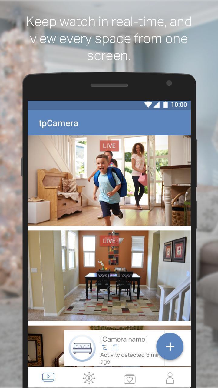 TP-LINK tpCamera 3.1.15 Screenshot 1