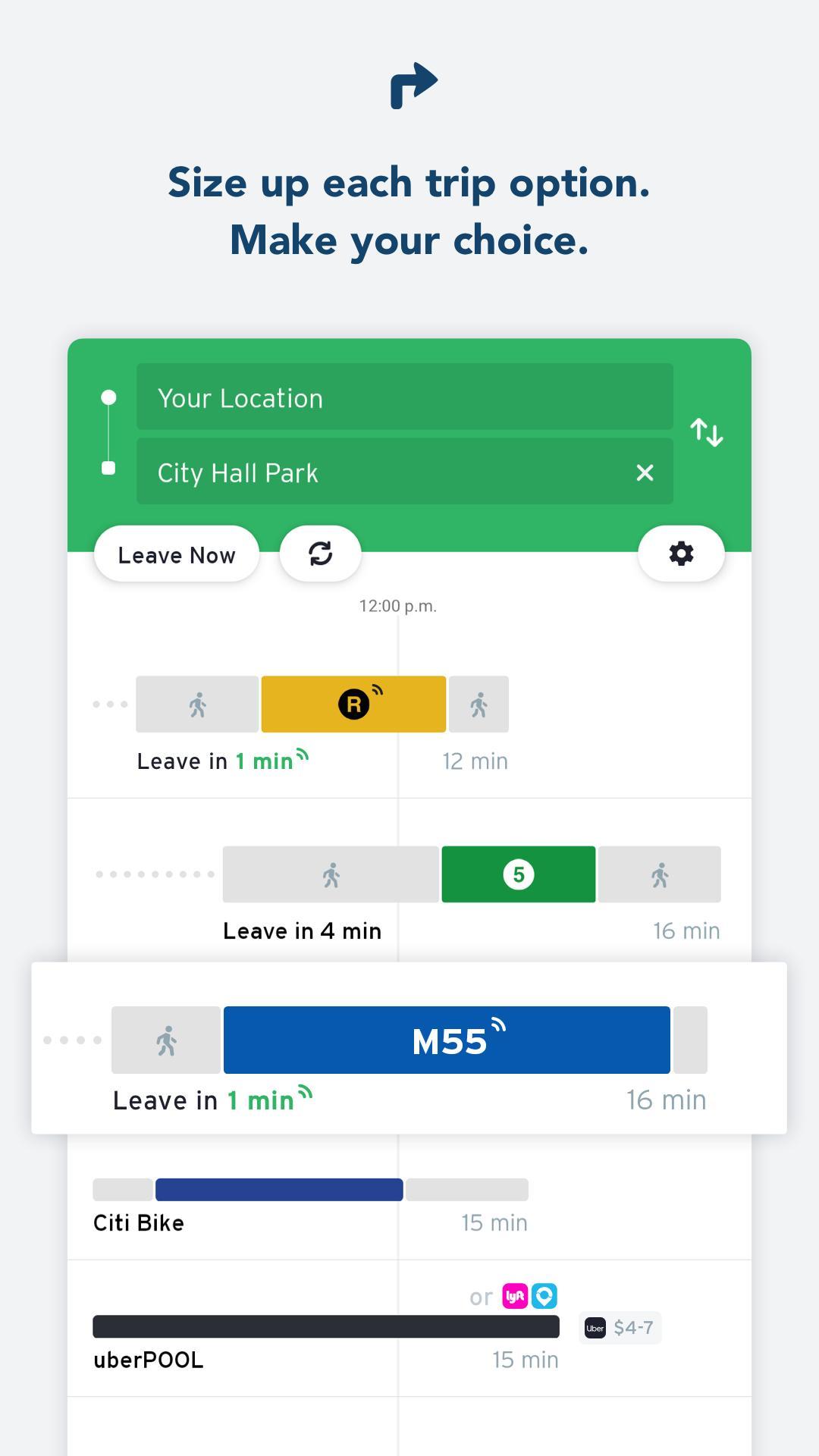 Transit • Bus & Subway Times 5.6.4 Screenshot 3