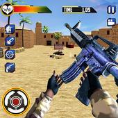 US Army Counter Terrorist Shooting Strike Game app icon