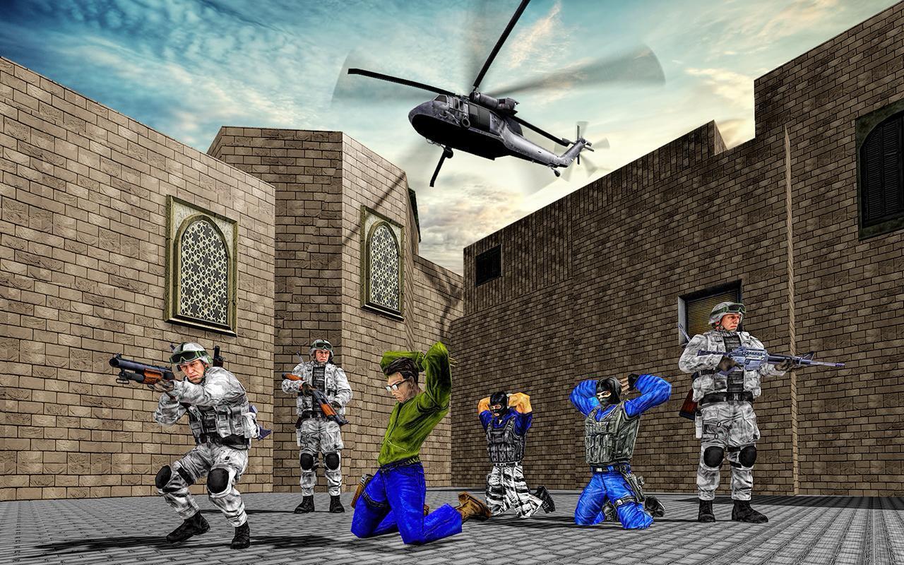 US Army Counter Terrorist Shooting Strike Game 1.0.7 Screenshot 1