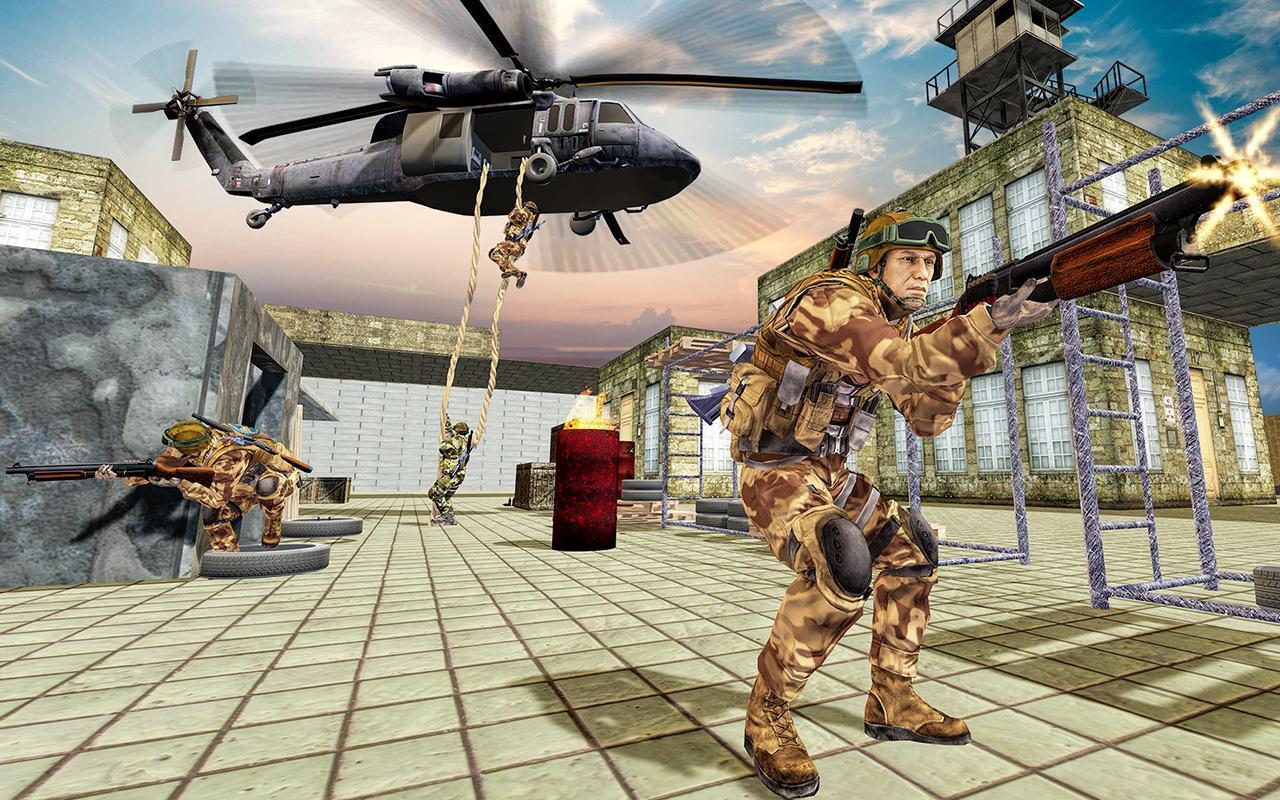 US Army Counter Terrorist Shooting Strike Game 1.0.7 Screenshot 10