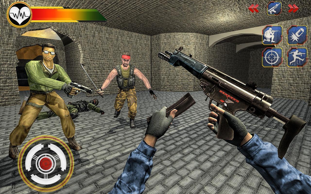US Army Counter Terrorist Shooting Strike Game 1.0.7 Screenshot 2
