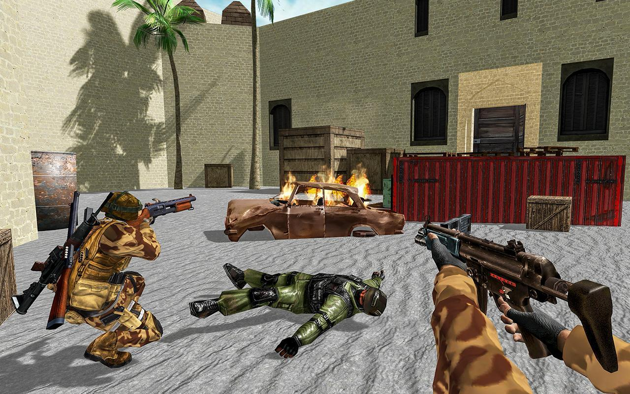 US Army Counter Terrorist Shooting Strike Game 1.0.7 Screenshot 3