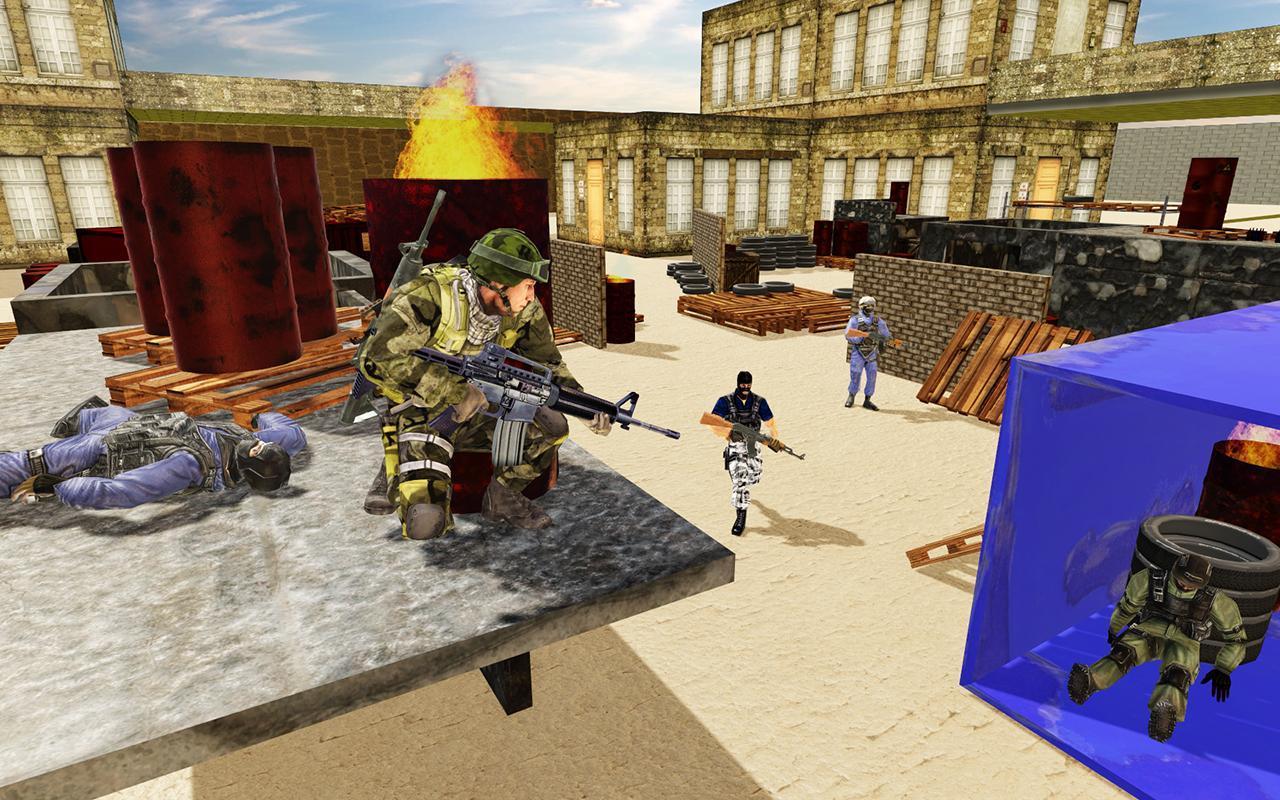 US Army Counter Terrorist Shooting Strike Game 1.0.7 Screenshot 4