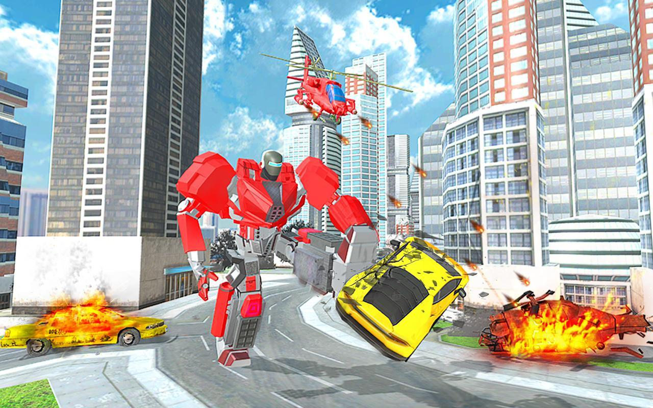 US Police Transform Robot War 1.18 Screenshot 8
