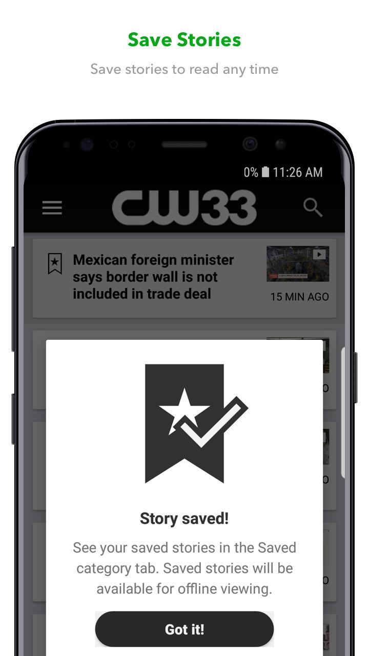 CW33 6.10.2 Screenshot 2
