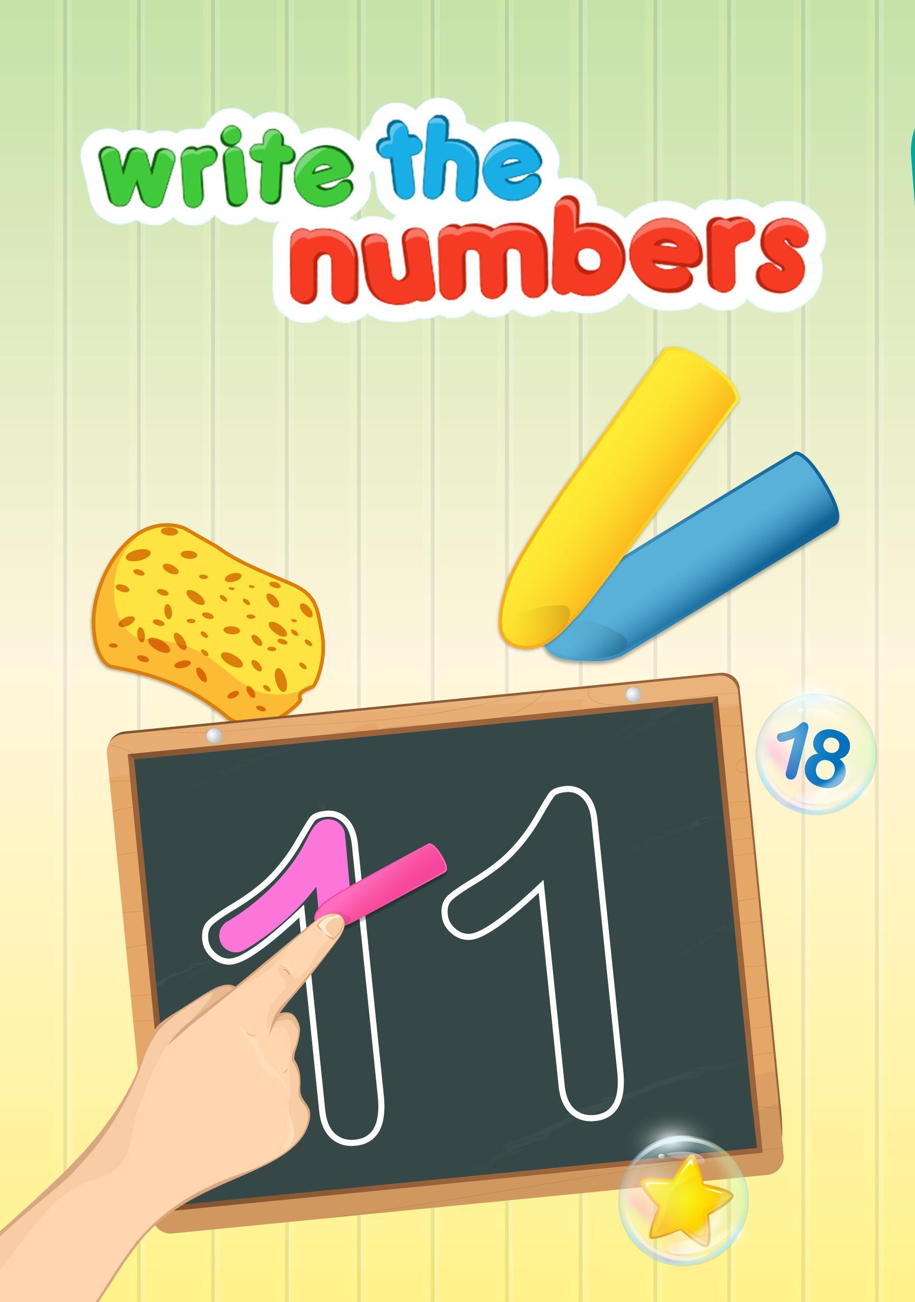 Write Numbers Tracing 123 2.1 Screenshot 6