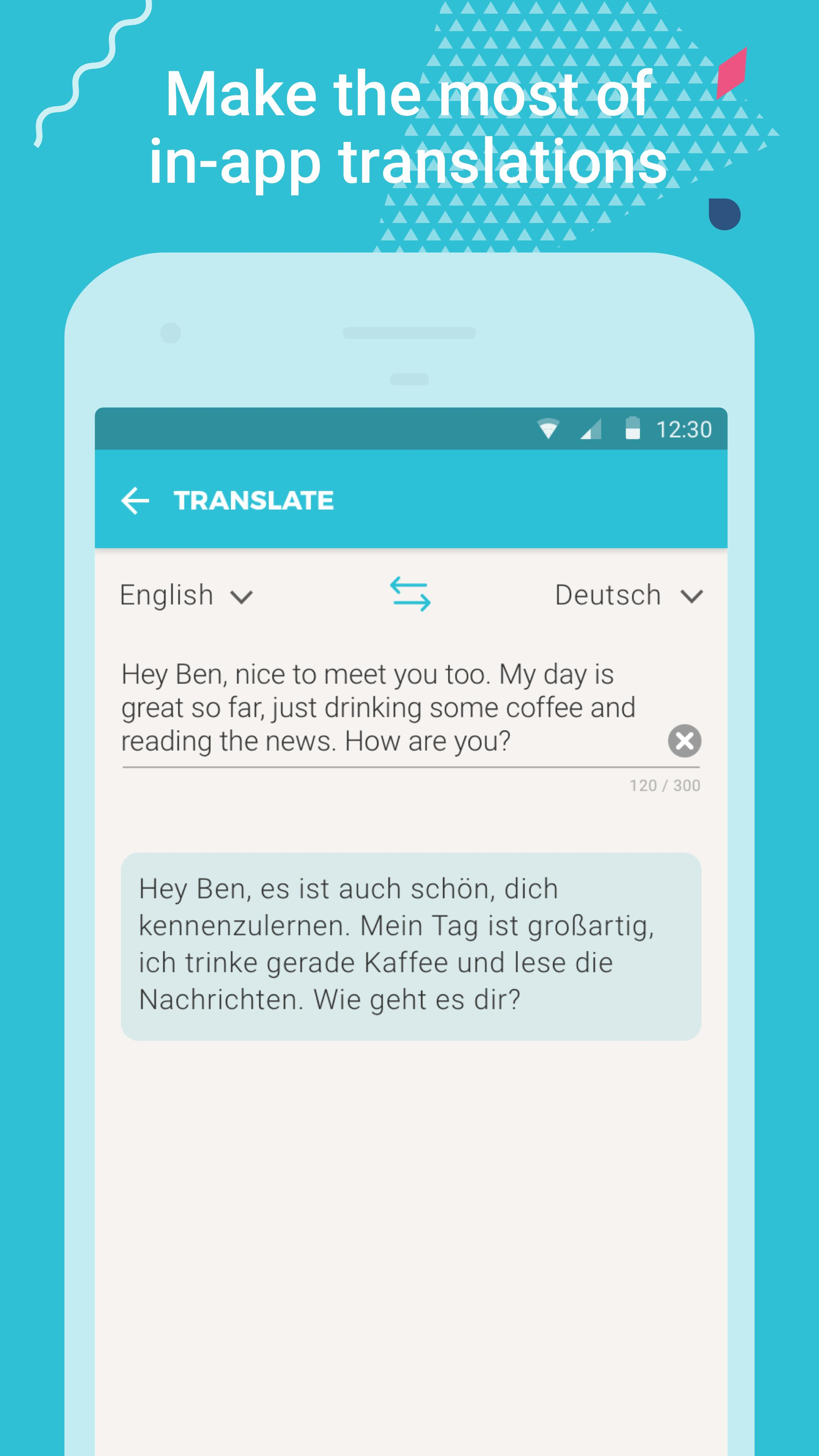 Tandem Language Exchange: Speak & learn languages 2.1.3 Screenshot 4