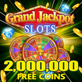 Grand Jackpot Slots Pop Vegas Casino Free Games app icon