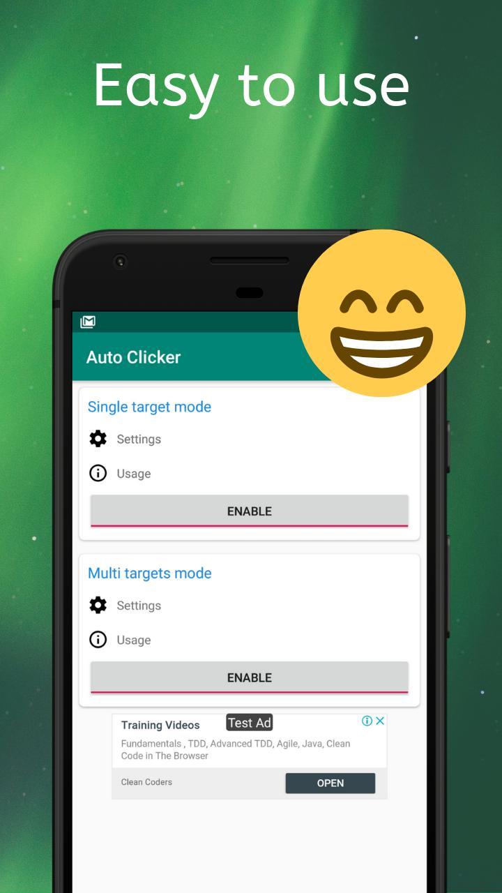 Auto Clicker Automatic tap 1.3.8 Screenshot 1