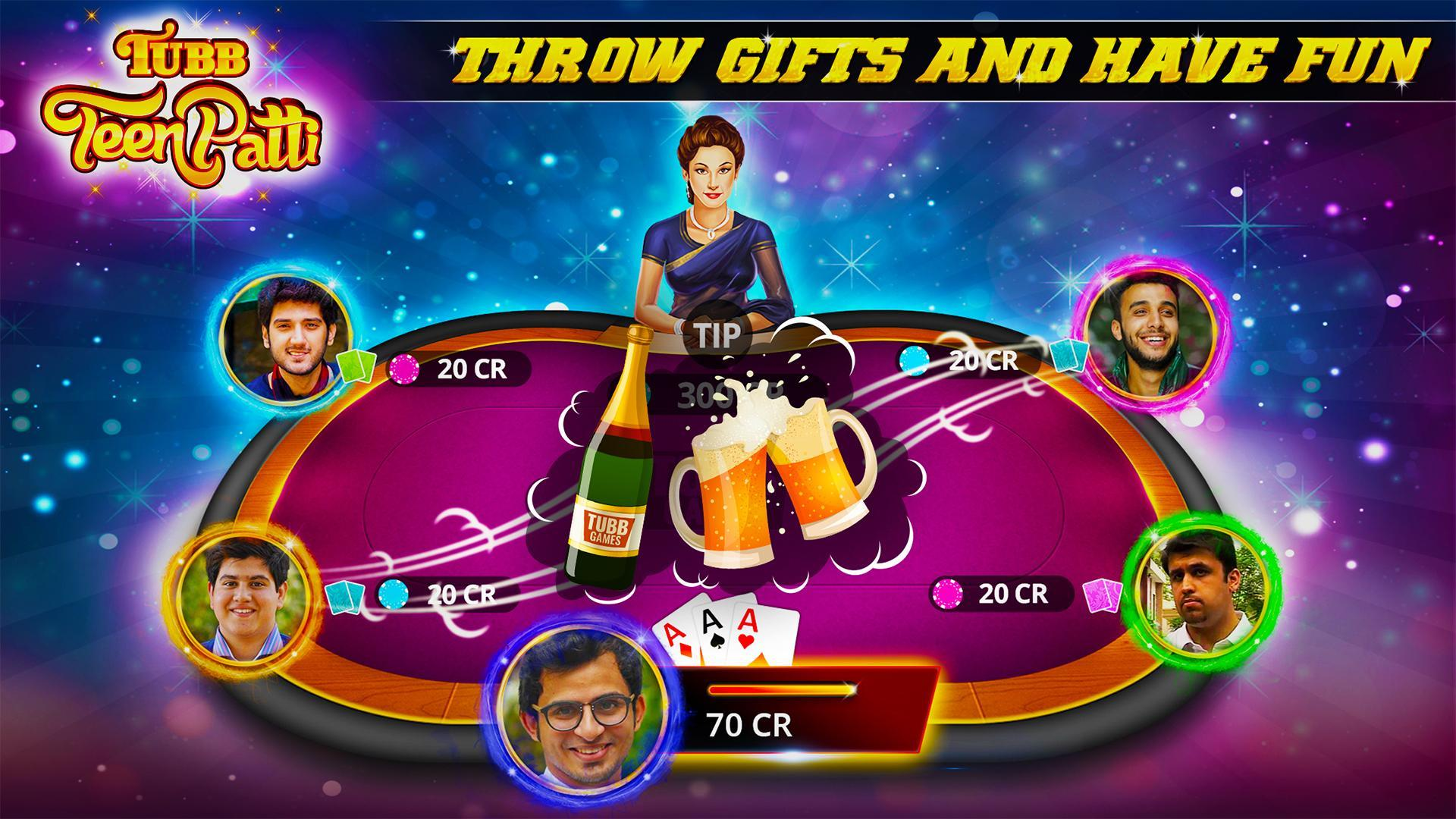 Tubb Teen Patti - Indian Poker - TTP 3.7 Screenshot 2
