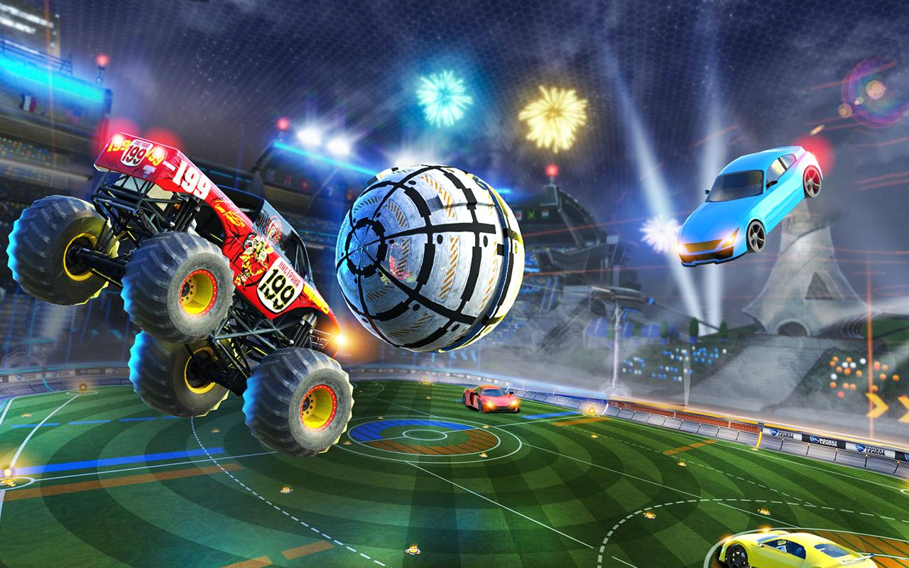 Rocket Car Soccer league - Super Football 1.7 Screenshot 1