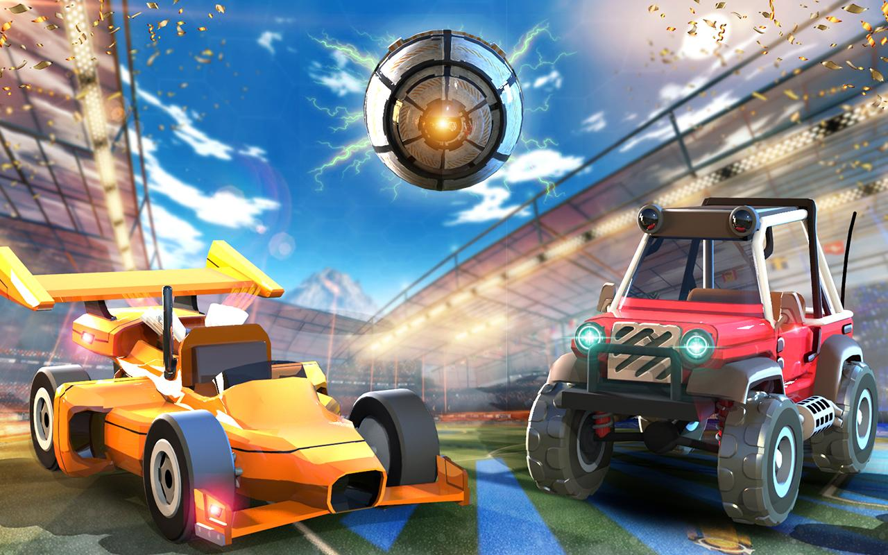 Rocket Car Soccer league - Super Football 1.7 Screenshot 2