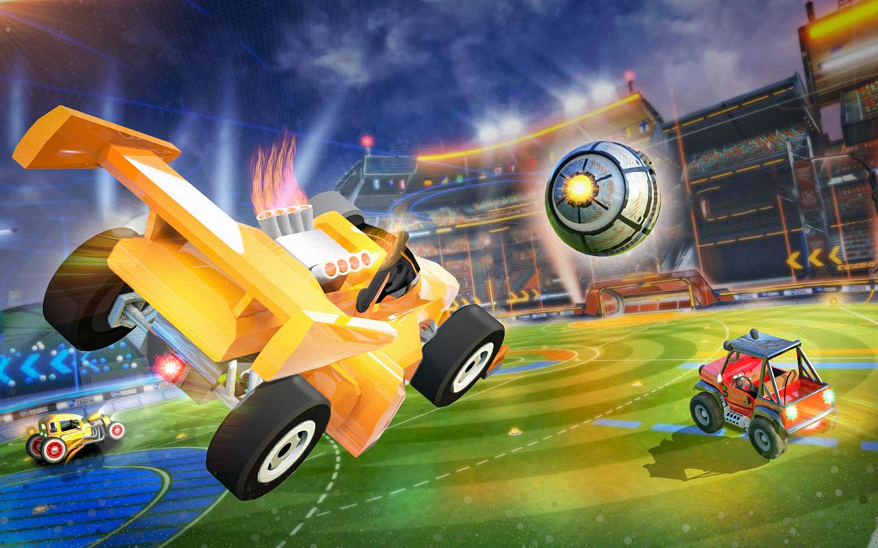 Rocket Car Soccer league - Super Football 1.7 Screenshot 3