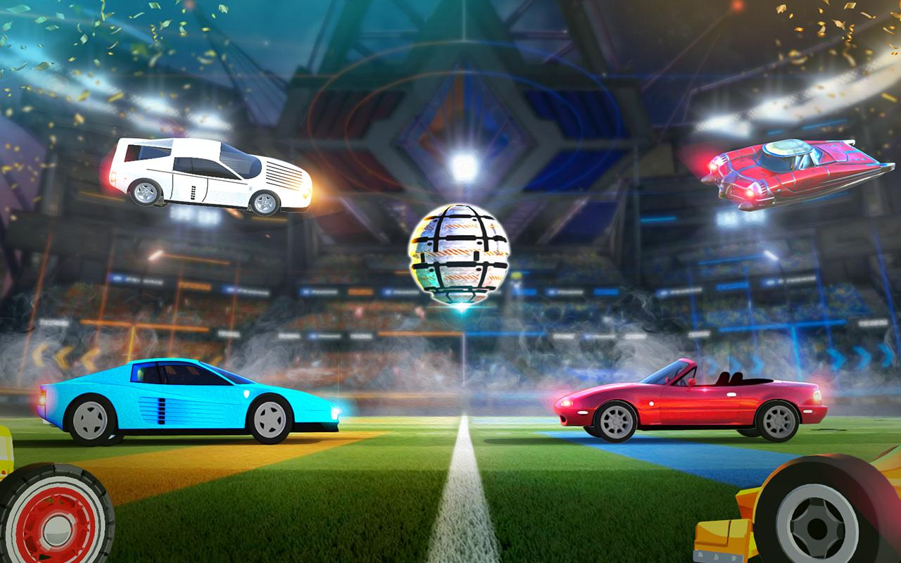 Rocket Car Soccer league - Super Football 1.7 Screenshot 4