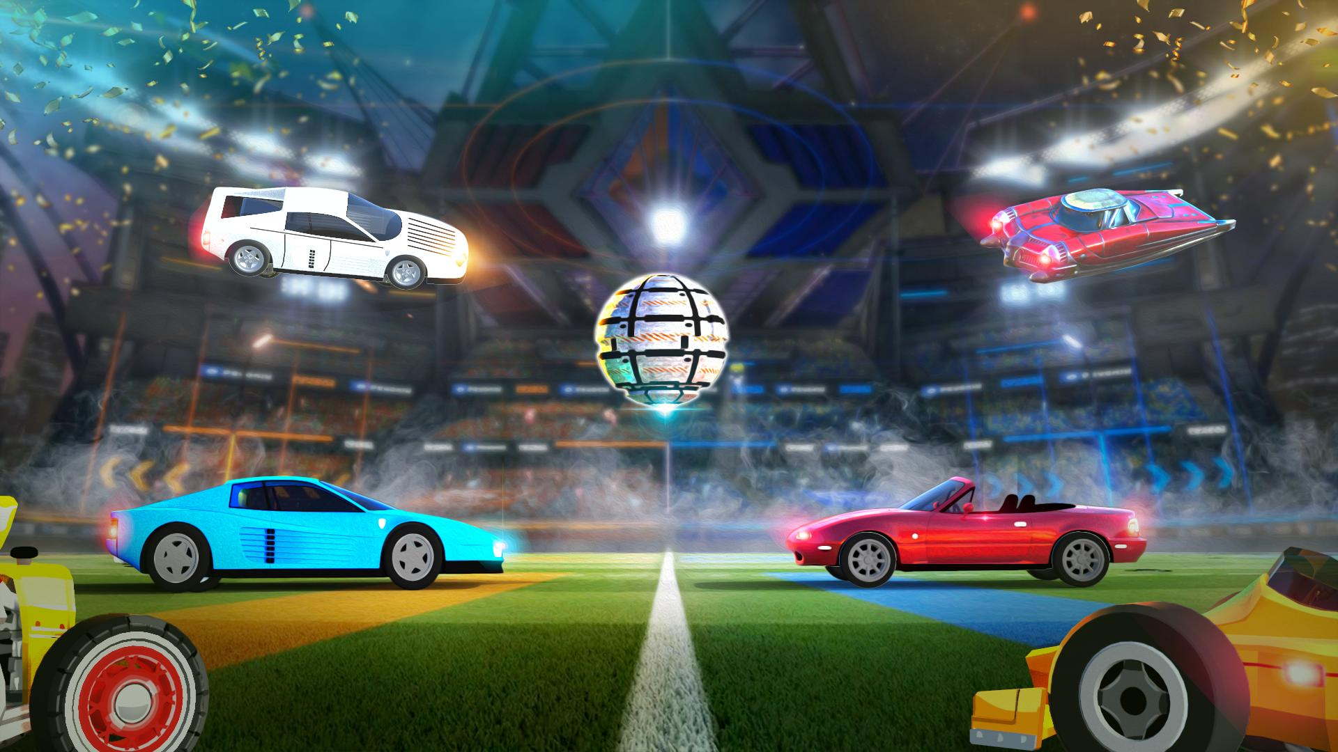 Rocket Car Soccer league - Super Football 1.7 Screenshot 8