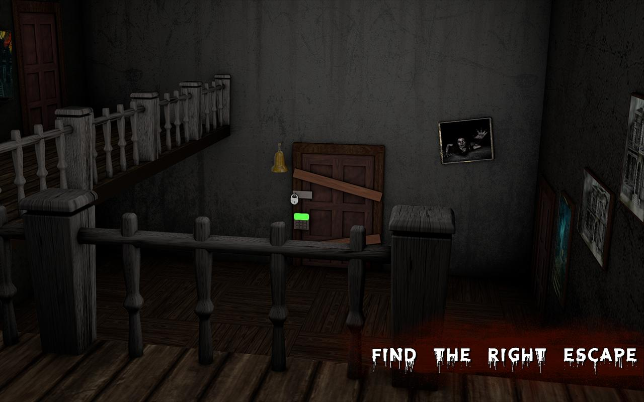 Haunted House Escape - Granny Ghost Games 1.0.13 Screenshot 10