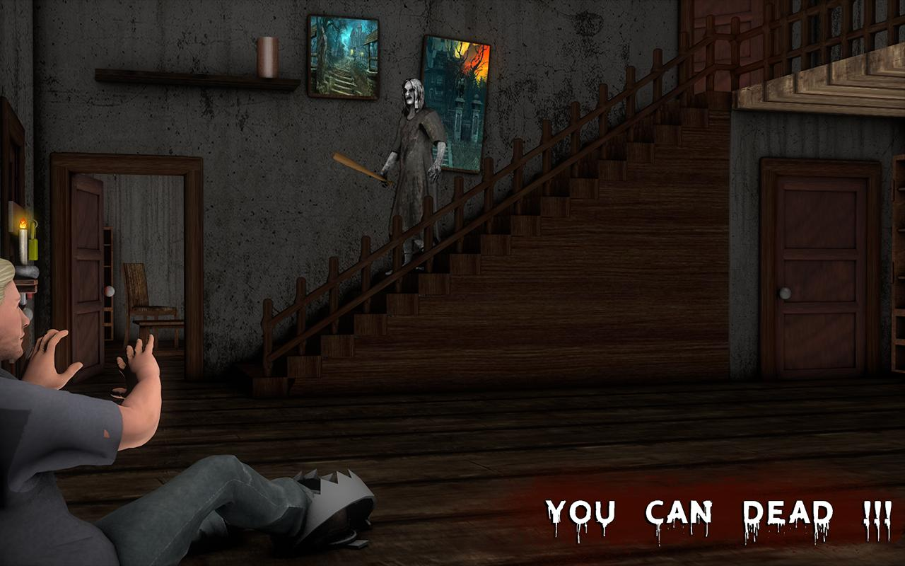 Haunted House Escape - Granny Ghost Games 1.0.13 Screenshot 9