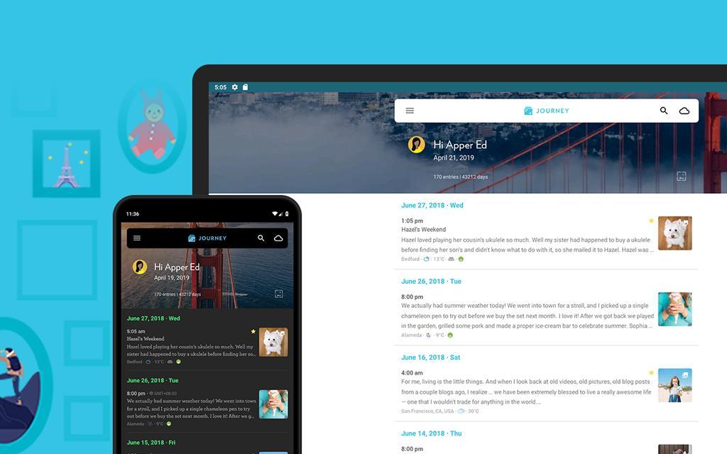 Journey Diary, Motivational Journal 3.4.5E Screenshot 15