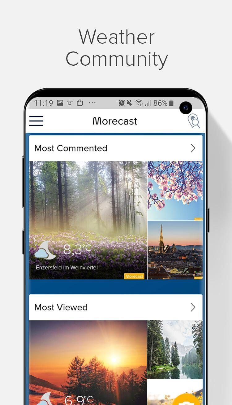 Weather Forecast, Radar & Widgets - Morecast 4.0.24 Screenshot 5