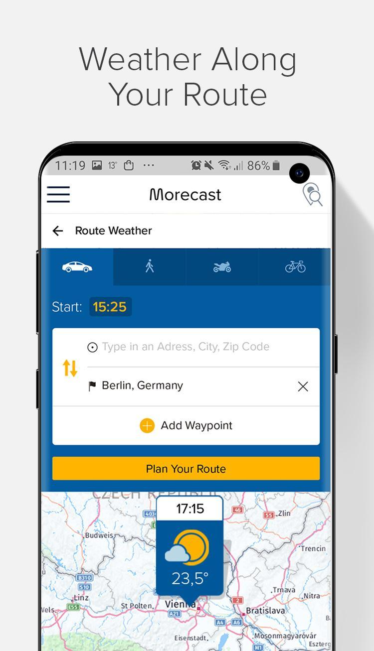 Weather Forecast, Radar & Widgets - Morecast 4.0.24 Screenshot 7