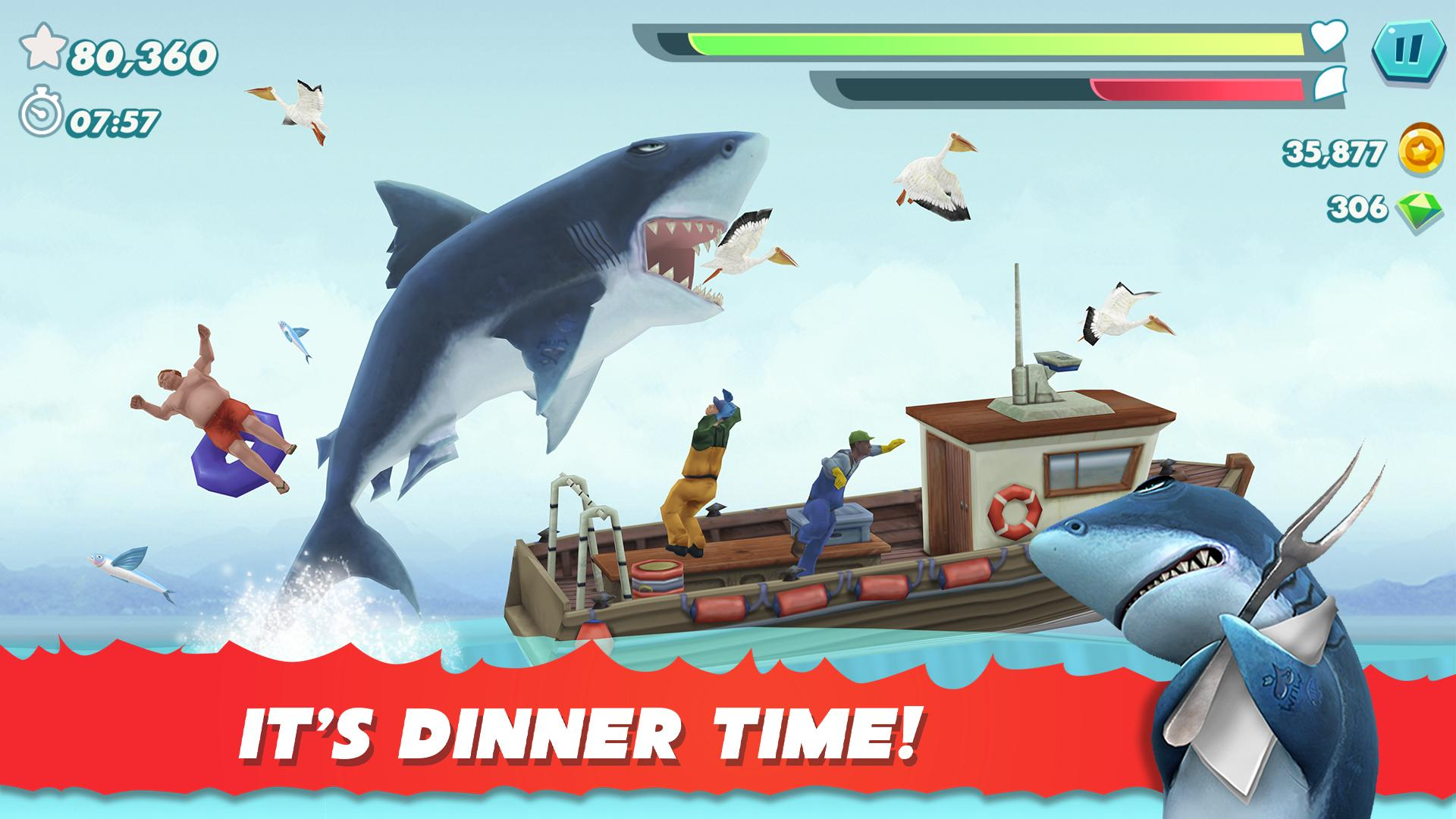 Hungry Shark Evolution 8.0.0 Screenshot 1