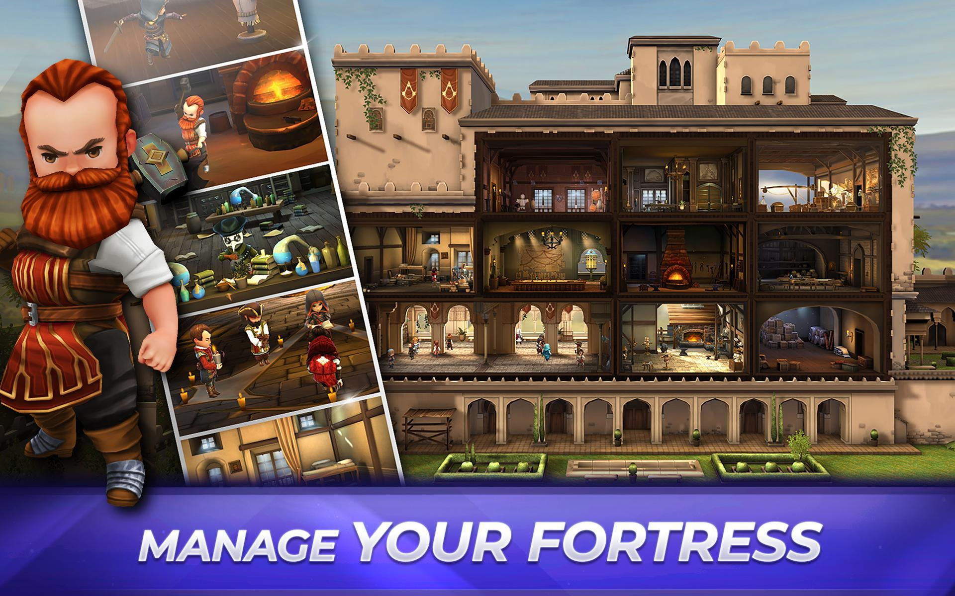 Assassin's Creed Rebellion: Adventure RPG 2.7.0 Screenshot 17
