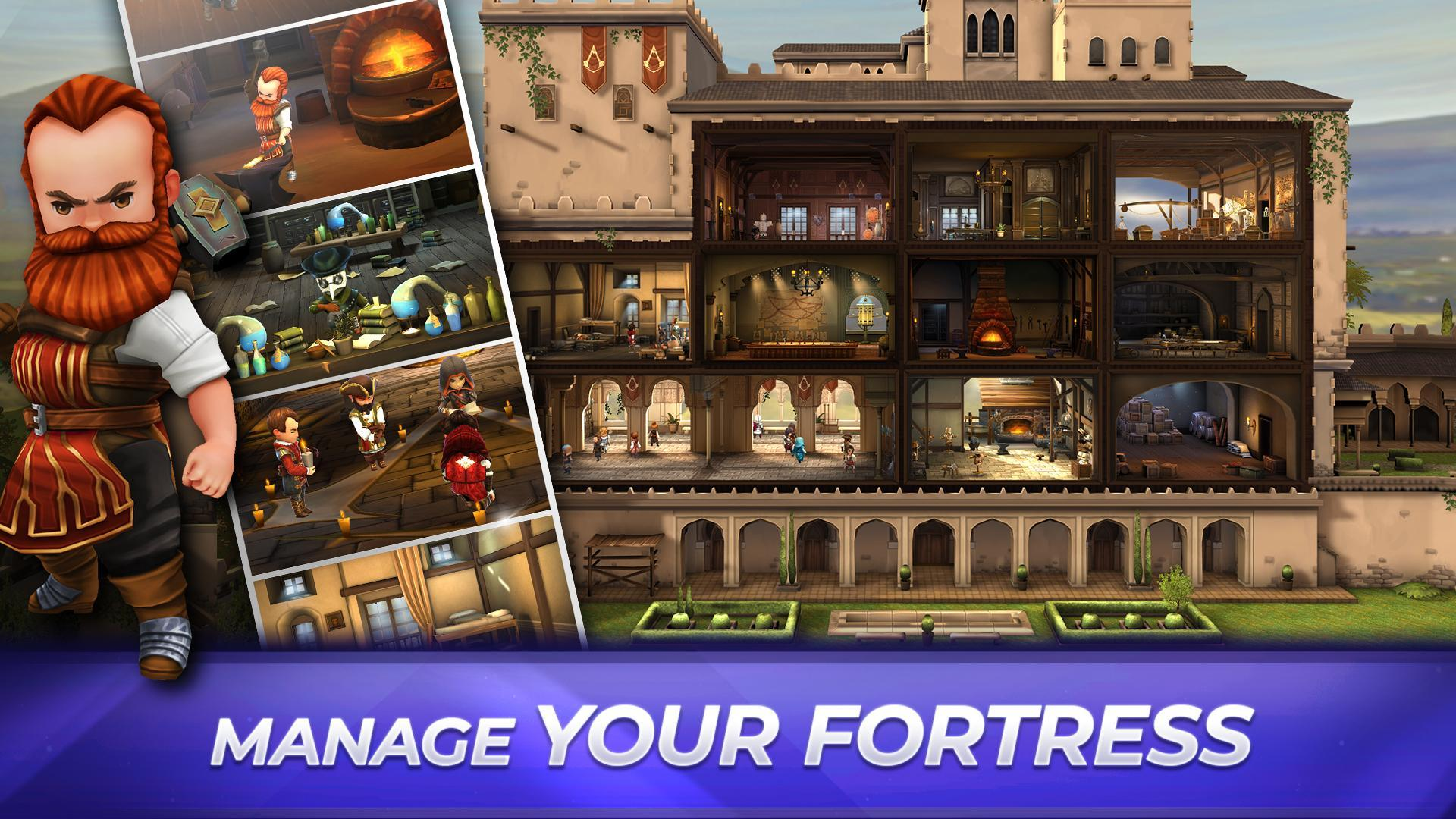 Assassin's Creed Rebellion: Adventure RPG 2.7.0 Screenshot 5