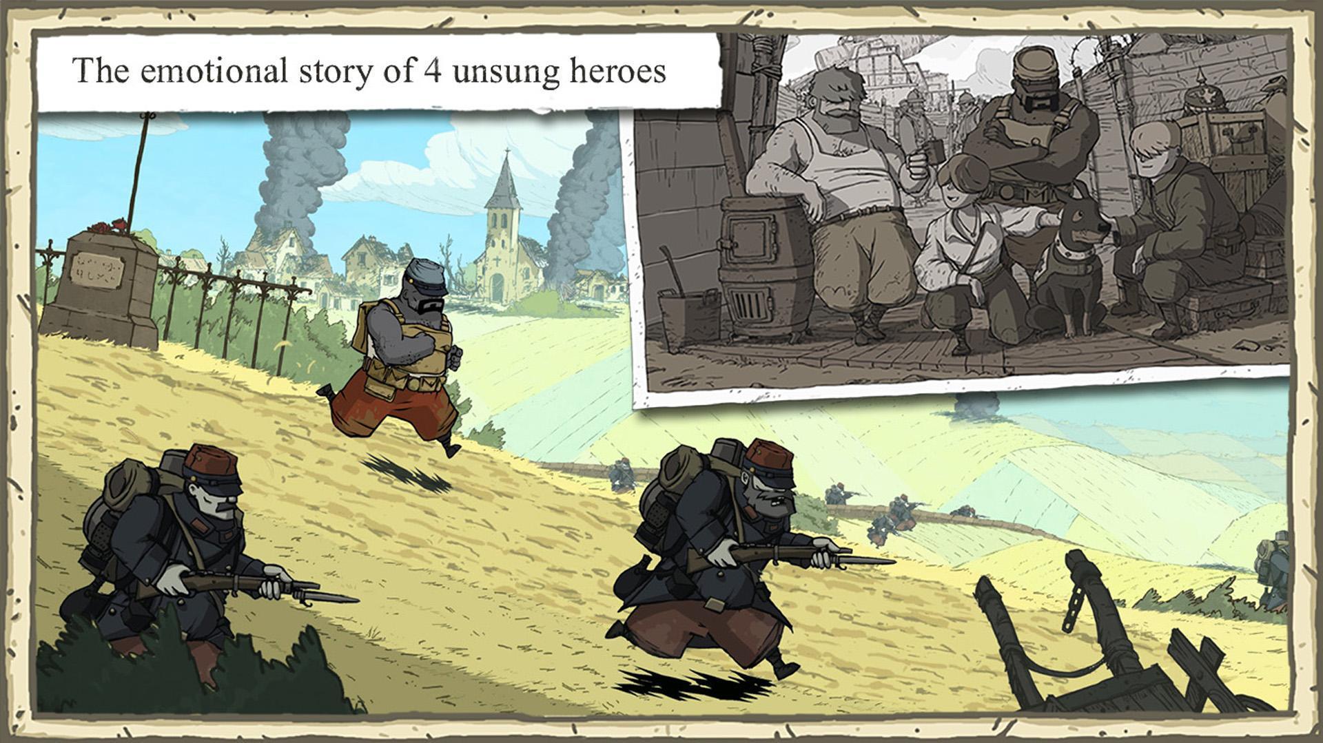 Valiant Hearts The Great War 1.0.1 Screenshot 10