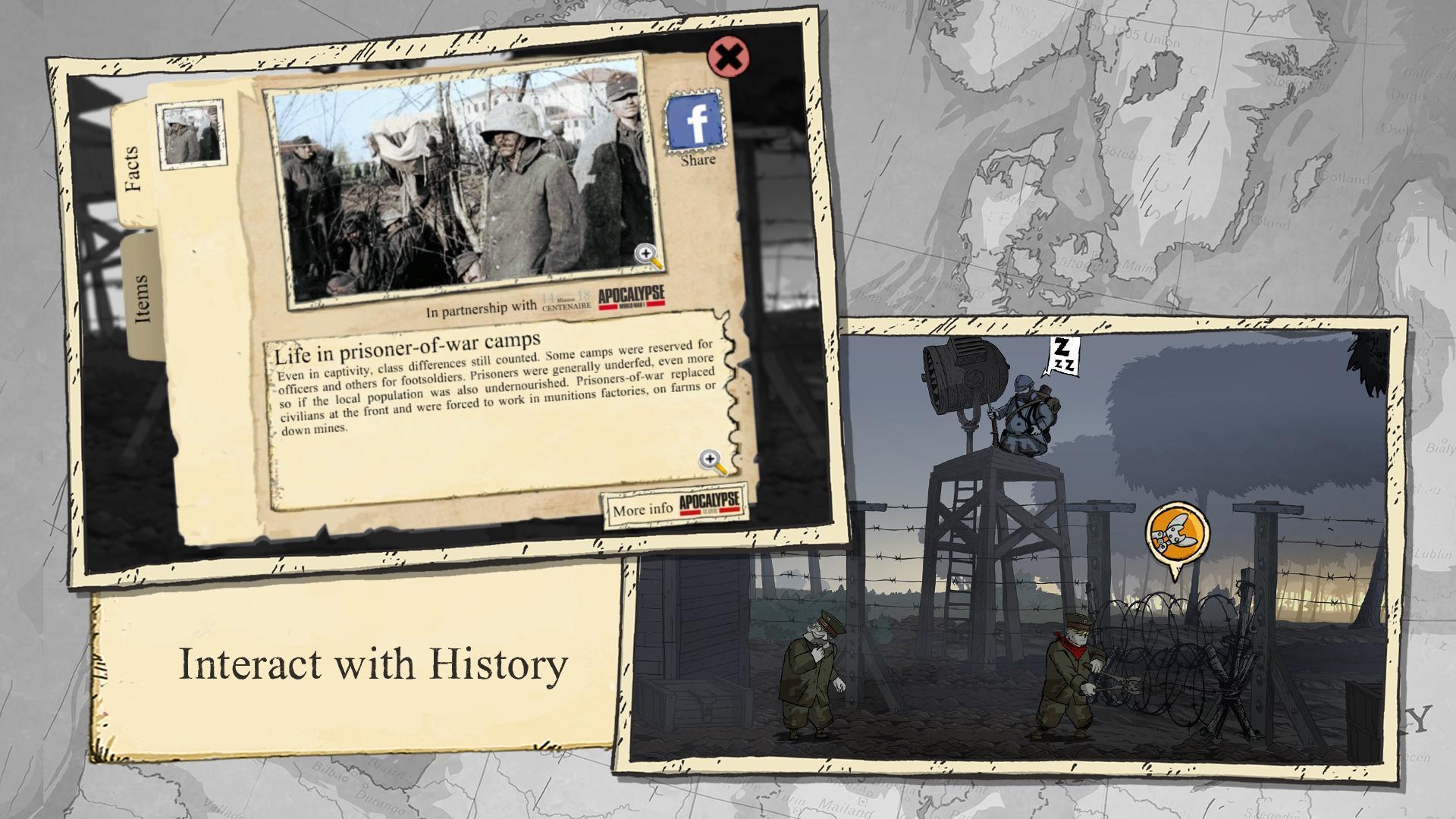 Valiant Hearts The Great War 1.0.1 Screenshot 5
