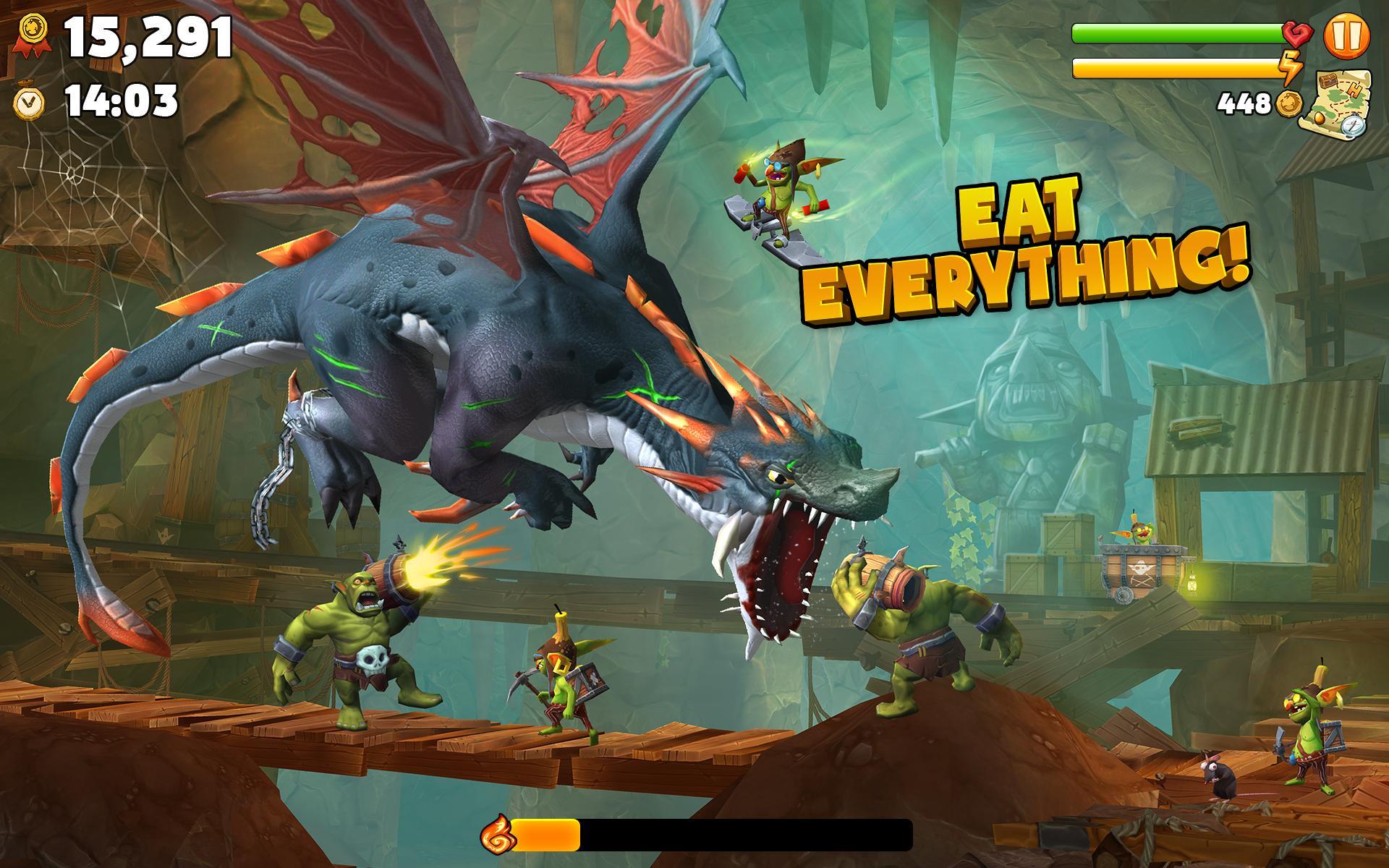 Hungry Dragon™ 2.10 Screenshot 16