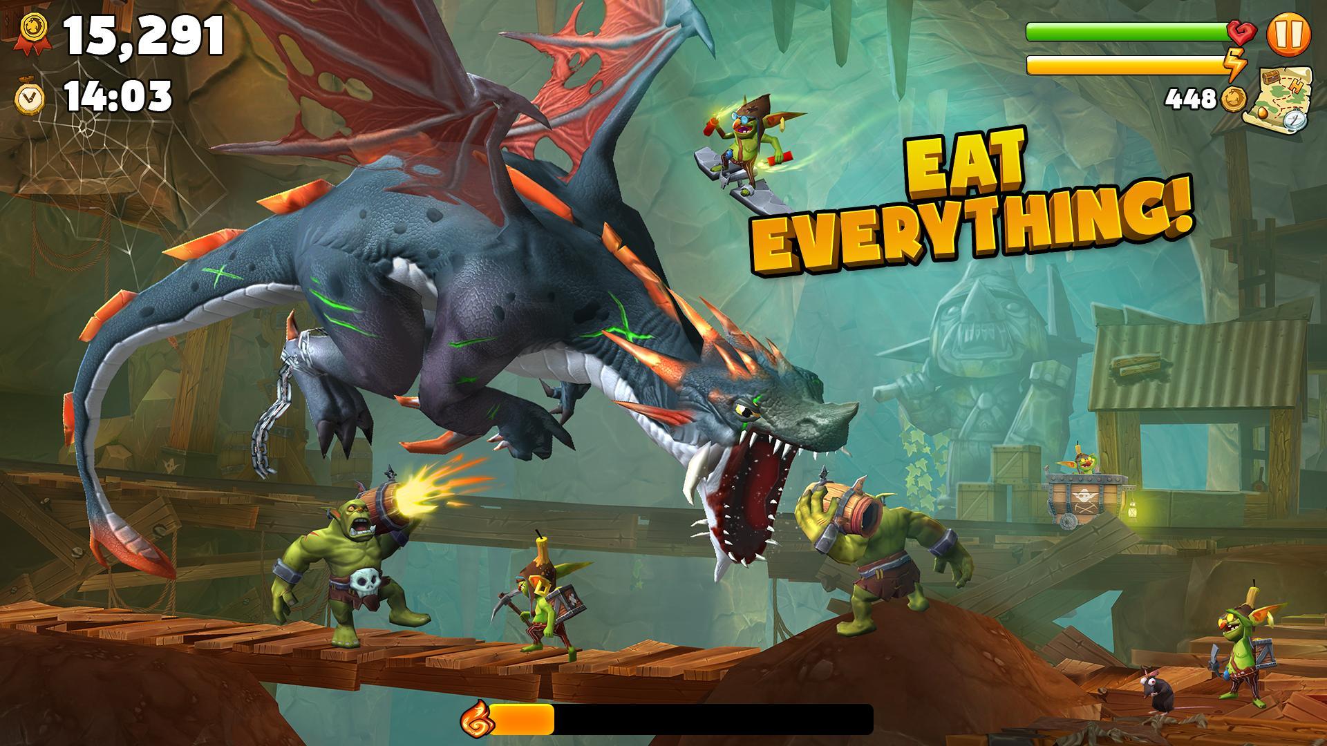 Hungry Dragon™ 2.10 Screenshot 2
