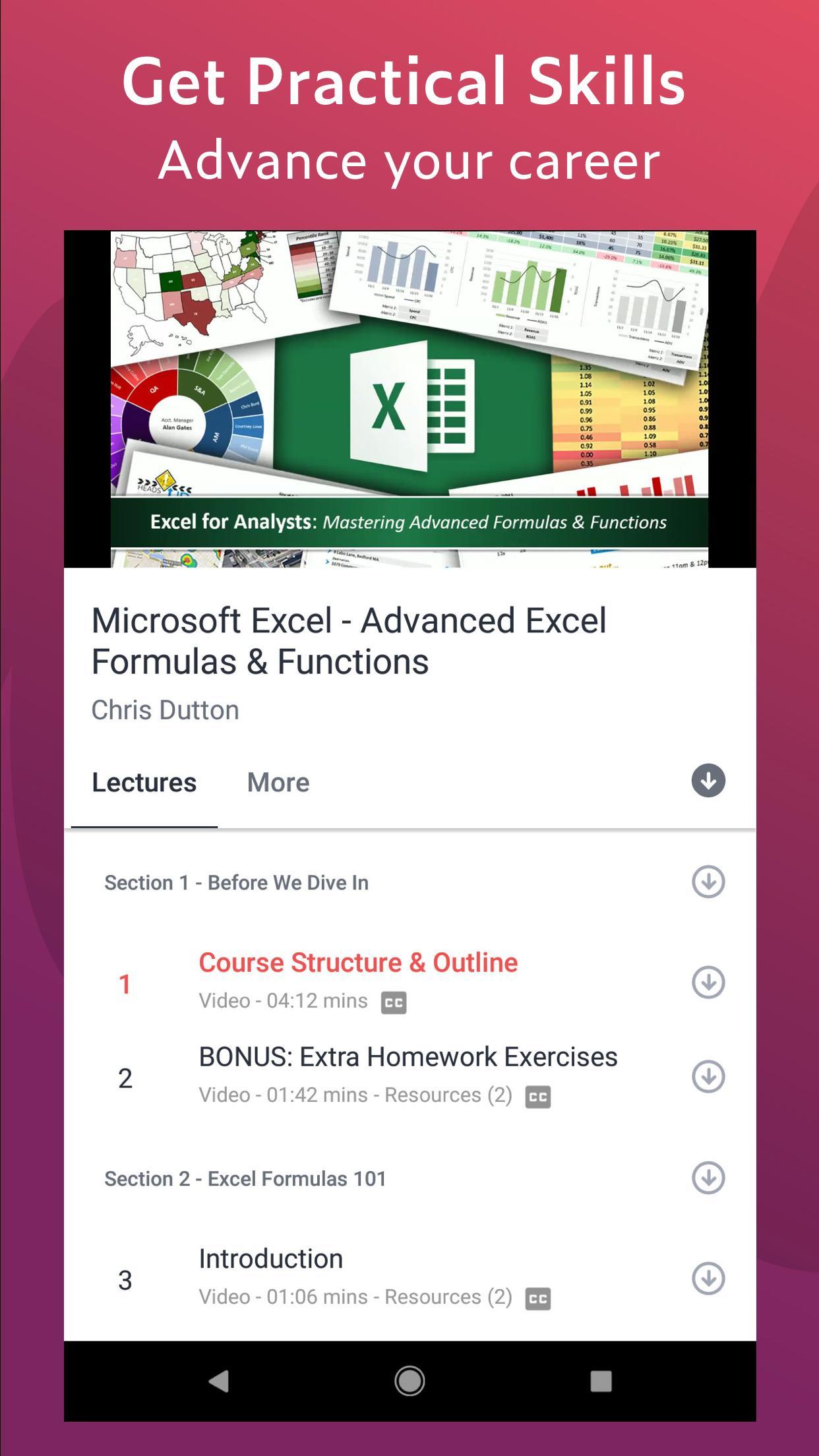Udemy Online Courses 5.5.2 Screenshot 2