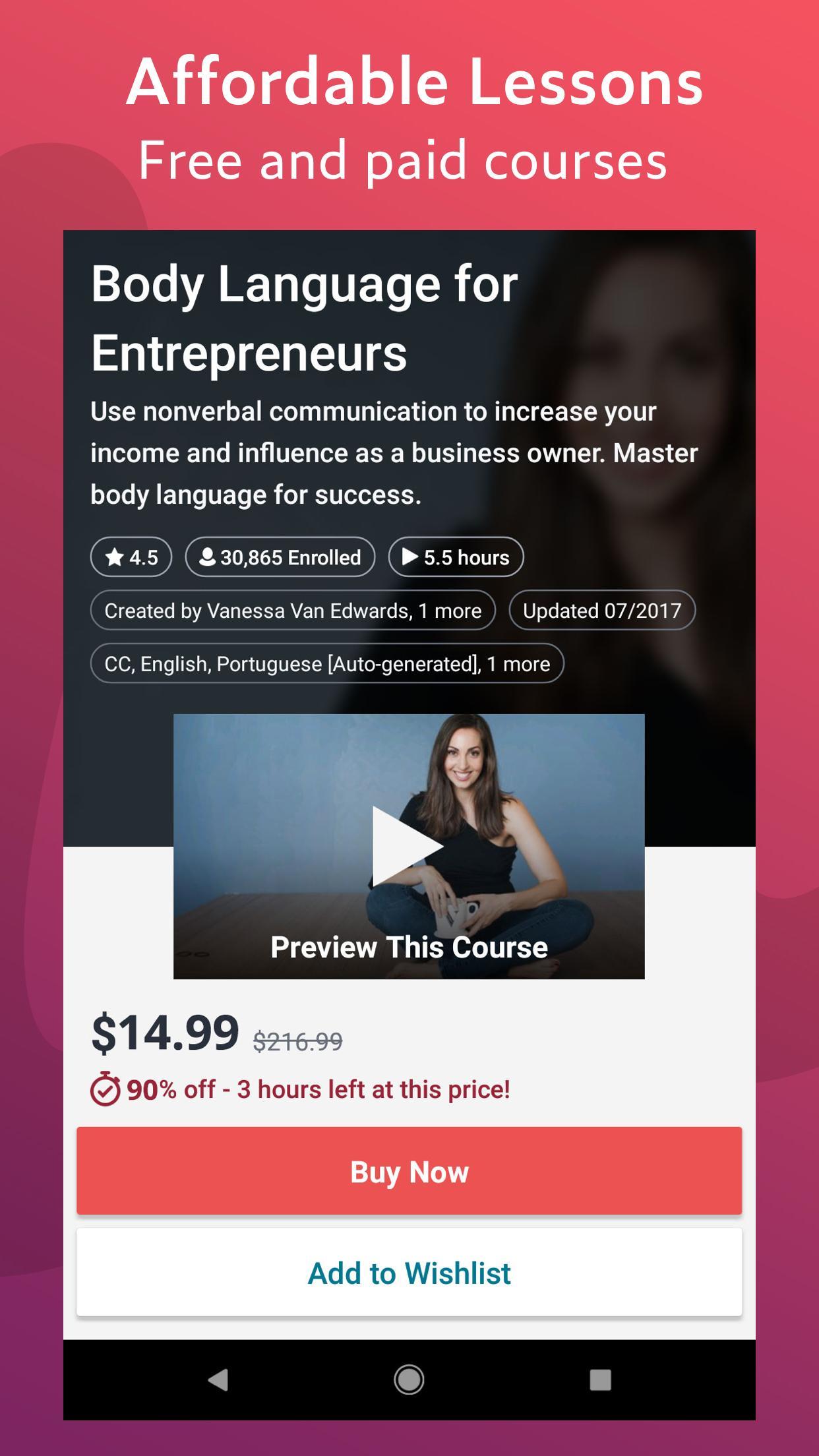 Udemy Online Courses 5.5.2 Screenshot 3