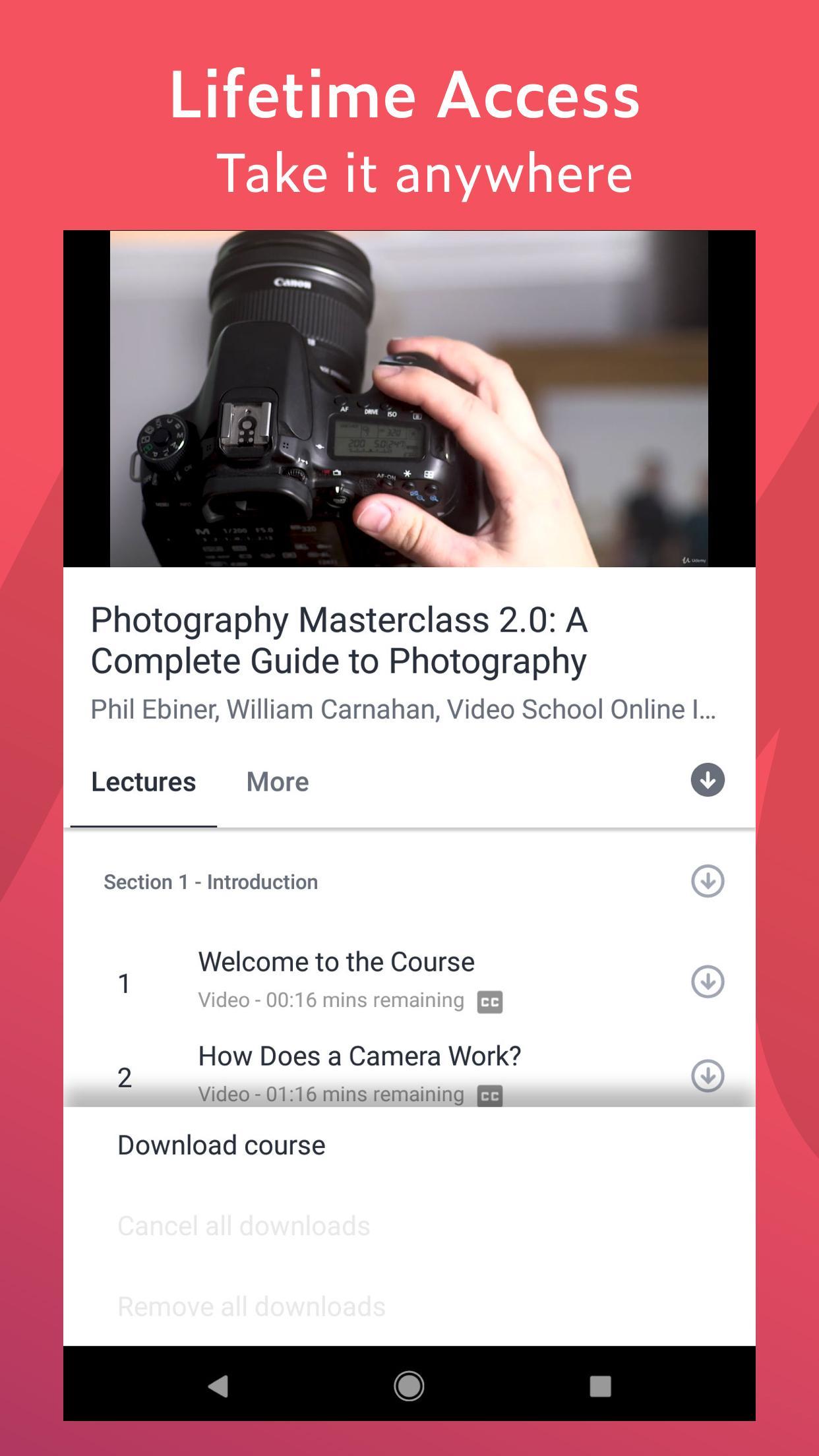 Udemy Online Courses 5.5.2 Screenshot 5