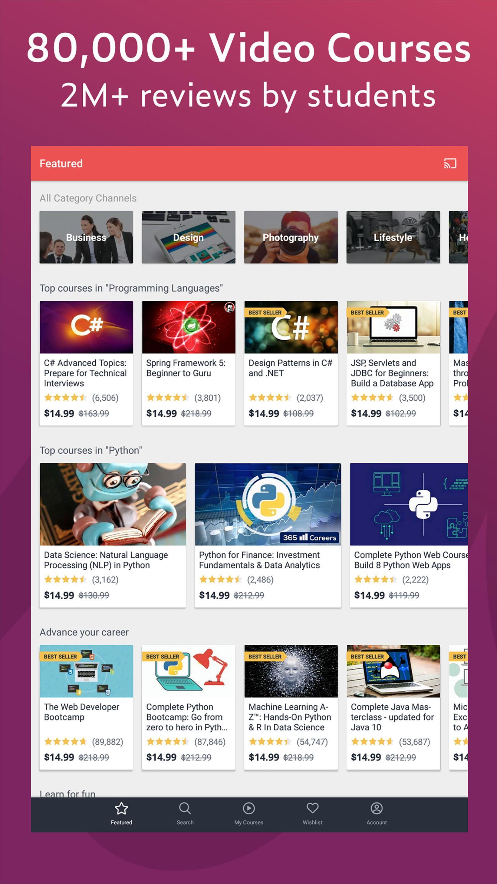 Udemy Online Courses 5.5.2 Screenshot 6