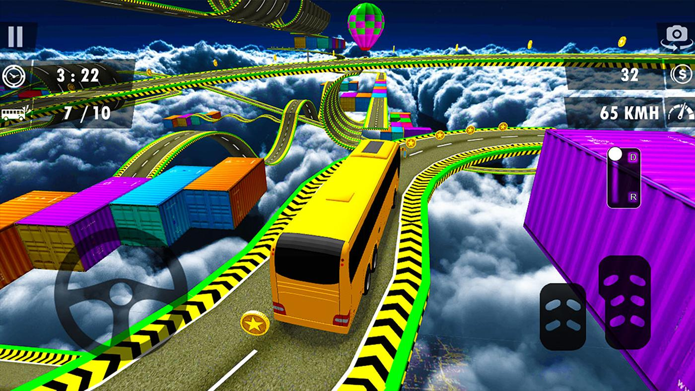 Impossible Bus Stunt Driving Game: Bus Stunt 3D 0.1 Screenshot 3