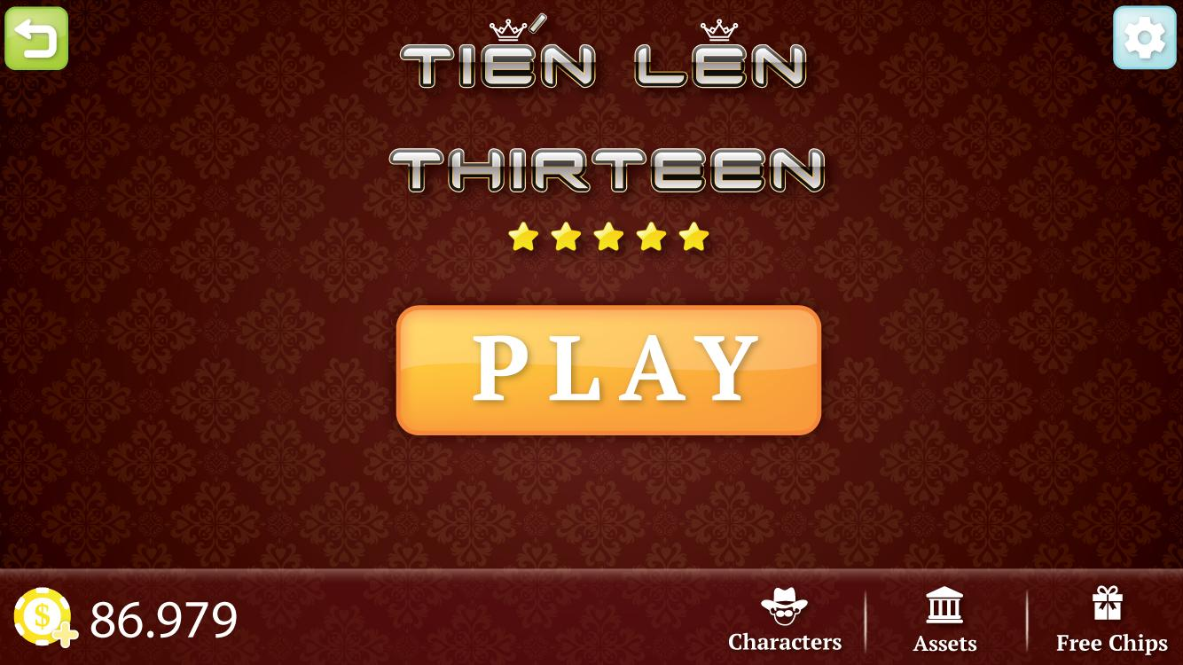Tien Len Thirteen 3.0.3 Screenshot 1