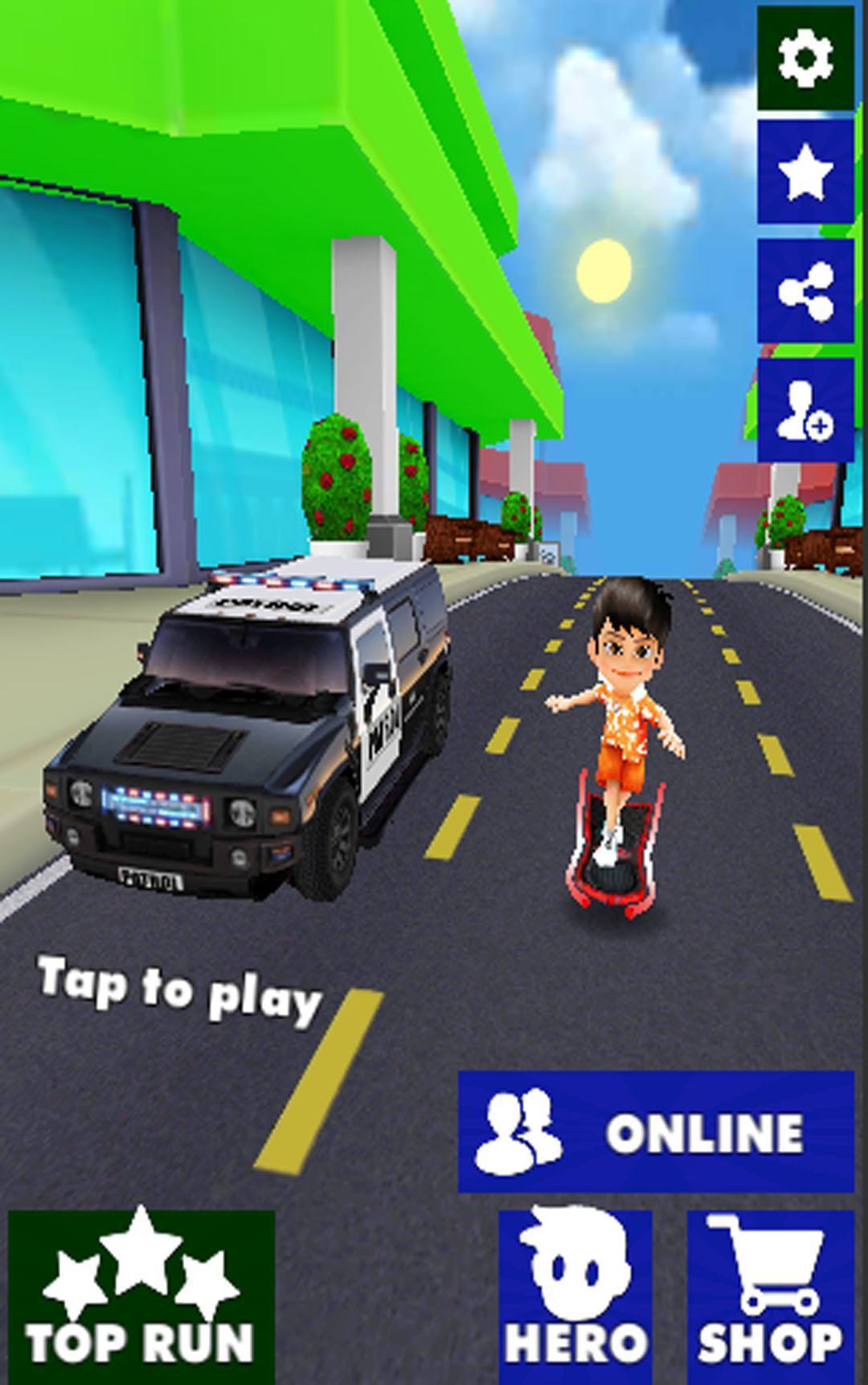 Fast Sherrif Runner HD 4.0 Screenshot 2