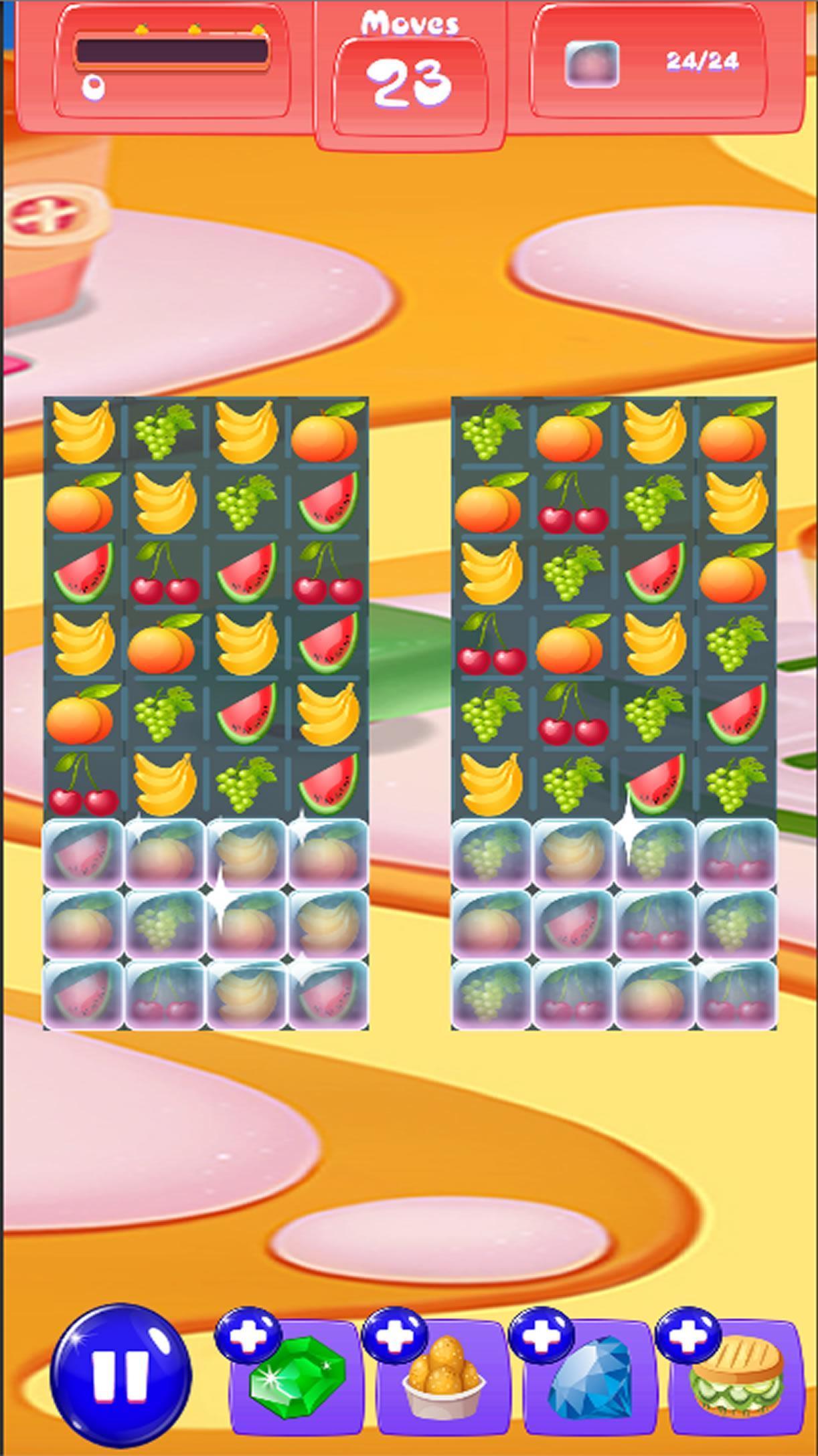 Fruit Splash Match Swipe 1.0 Screenshot 1