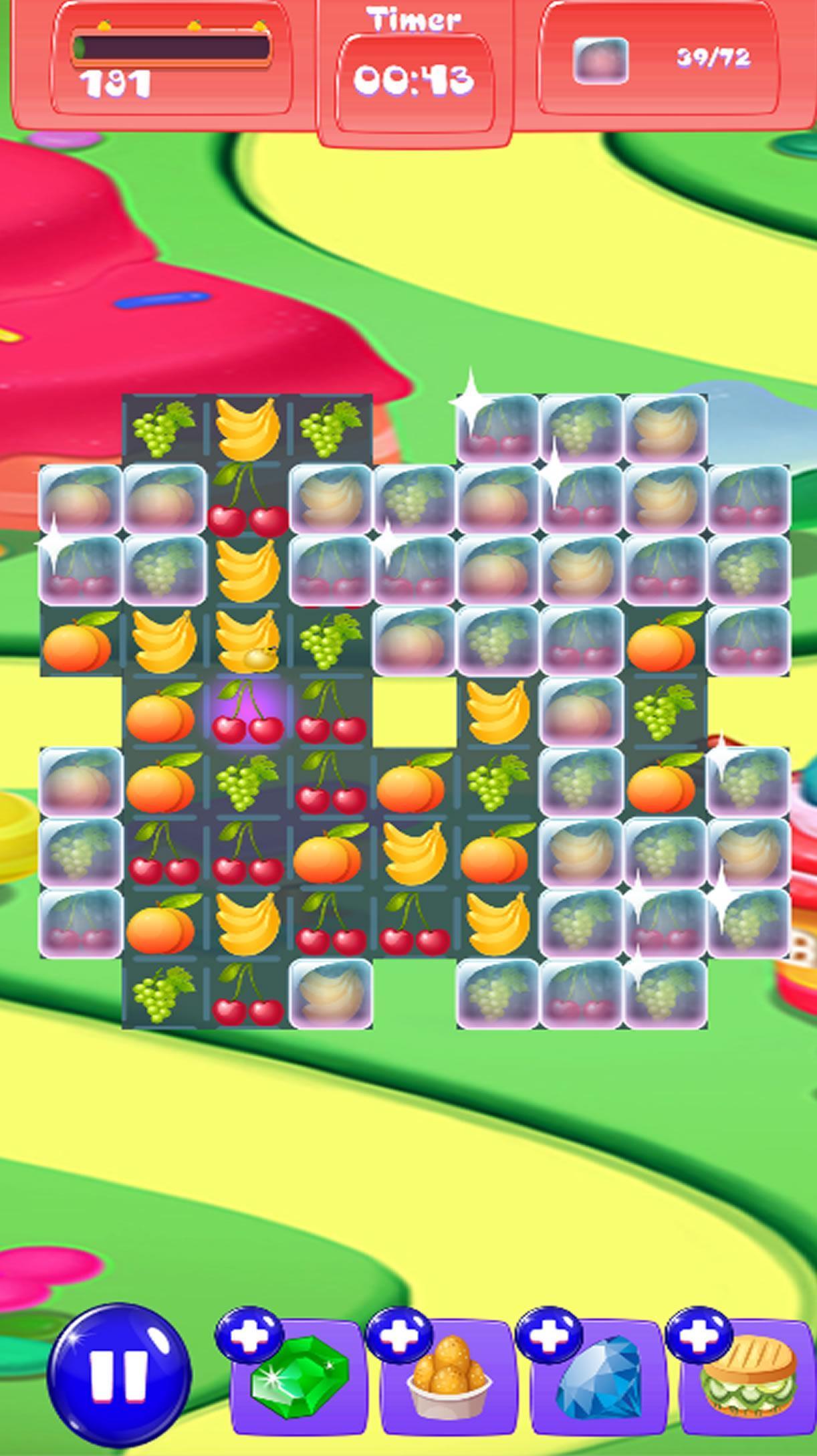 Fruit Splash Match Swipe 1.0 Screenshot 5