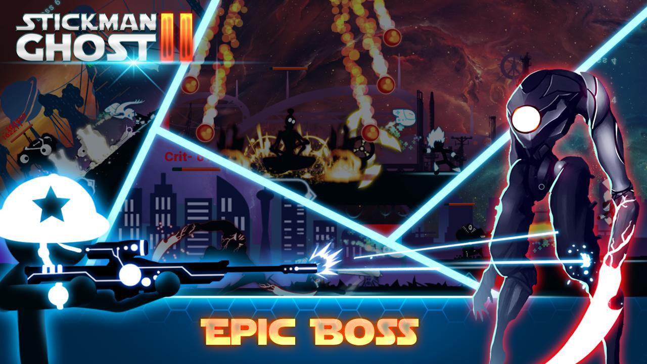 Stickman Ghost 2 Galaxy Wars - Shadow Action RPG 6.6 Screenshot 2