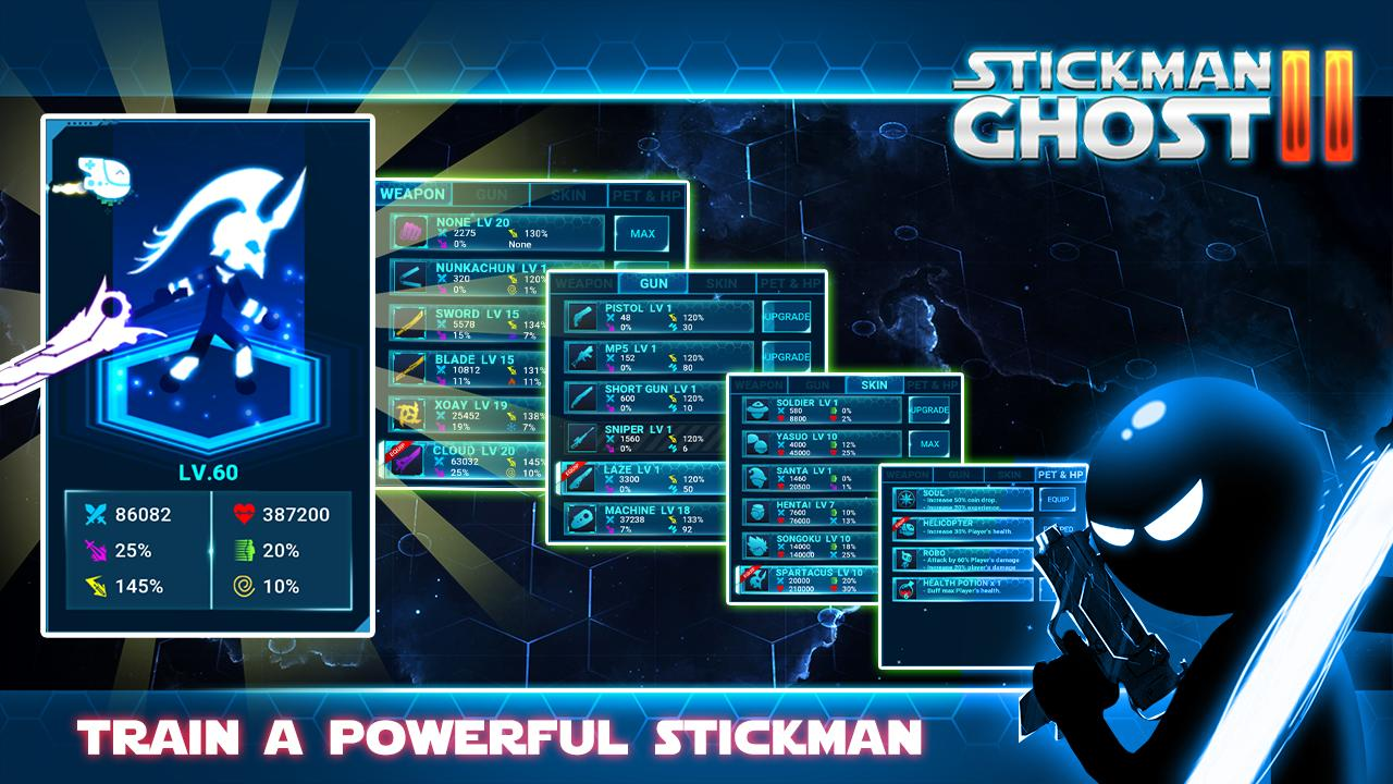 Stickman Ghost 2 Galaxy Wars - Shadow Action RPG 6.6 Screenshot 3