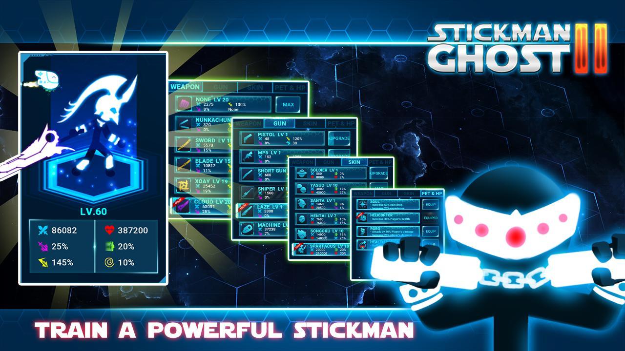 Stickman Ghost 2 Galaxy Wars - Shadow Action RPG 6.6 Screenshot 9