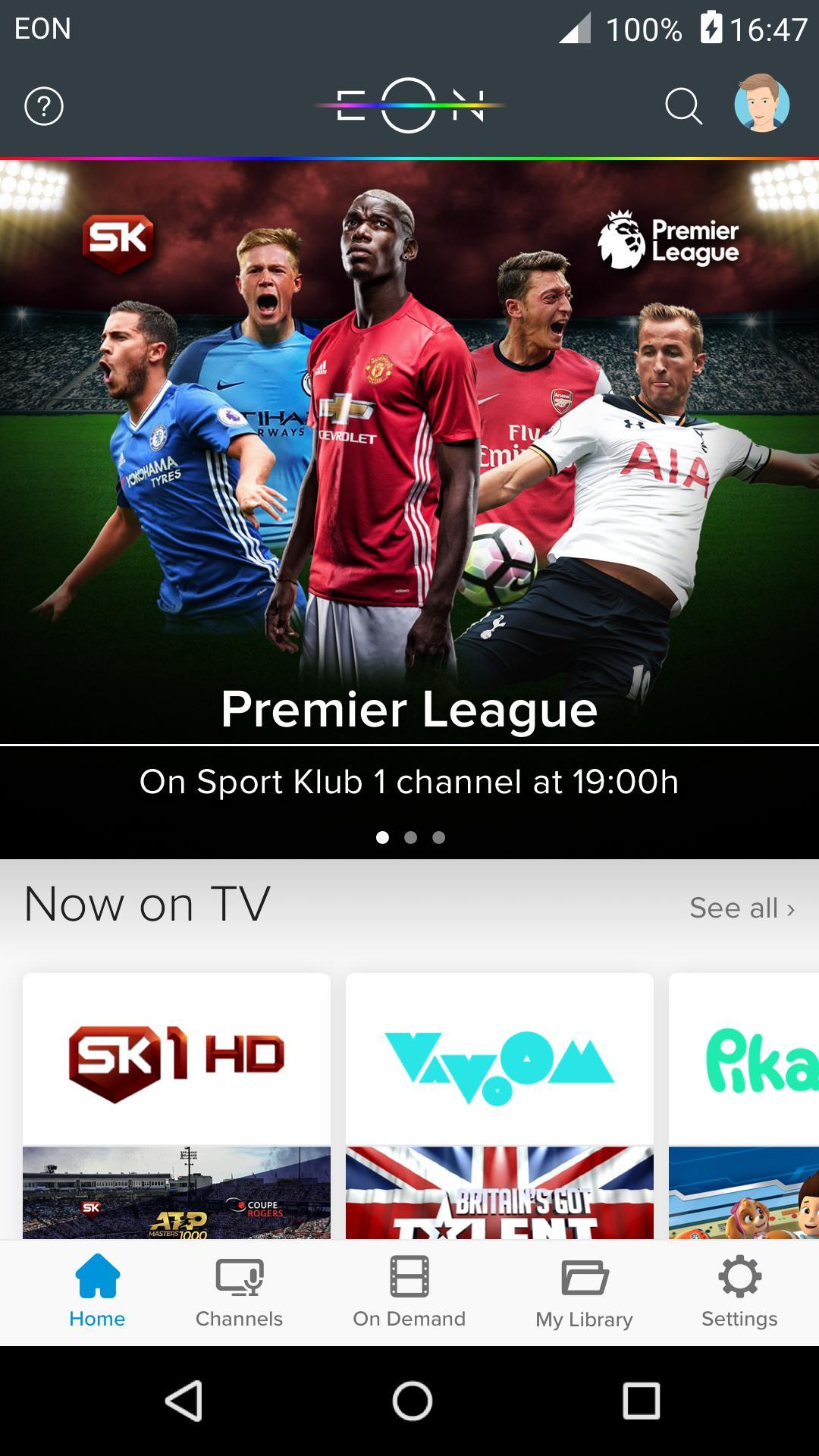 EON TV screenshot