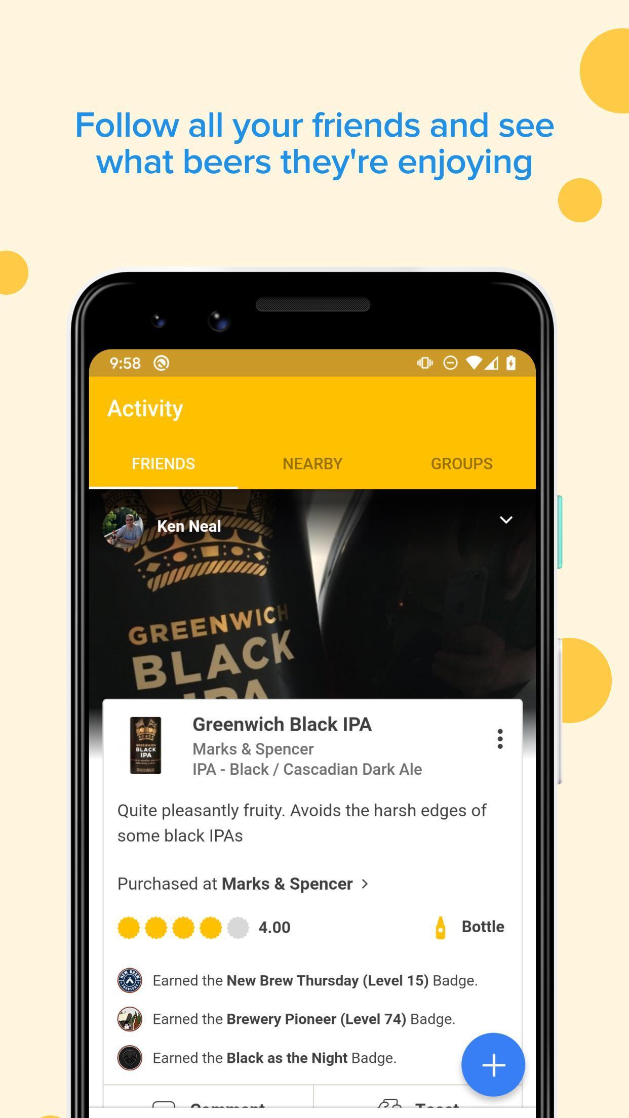 Untappd Discover Beer 3.4.91 Screenshot 1